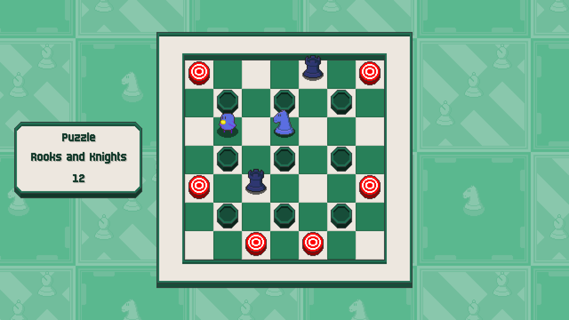 Chessplosion - Puzzle Solution Guide + Achievements Walkthrough - Expert: Rooks and Knights - 80F475C
