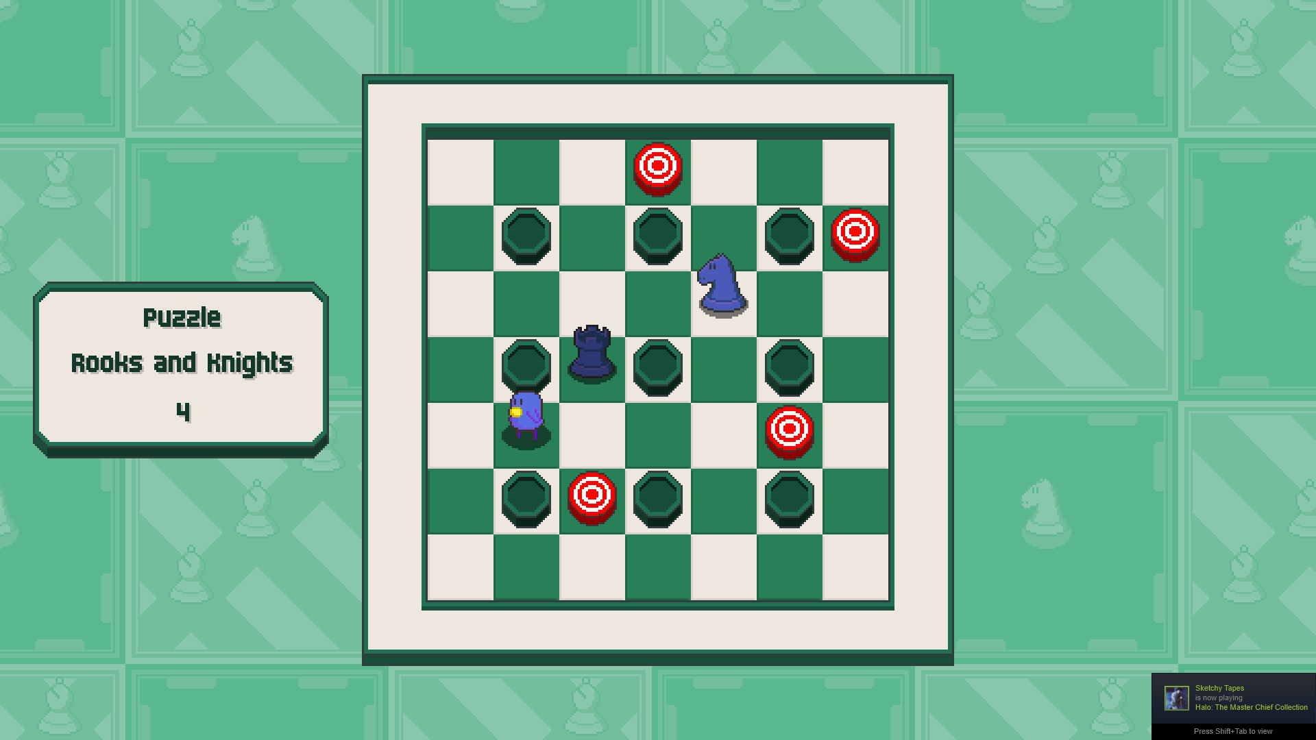 Chessplosion - Puzzle Solution Guide + Achievements Walkthrough - Expert: Rooks and Knights - 904B1A9