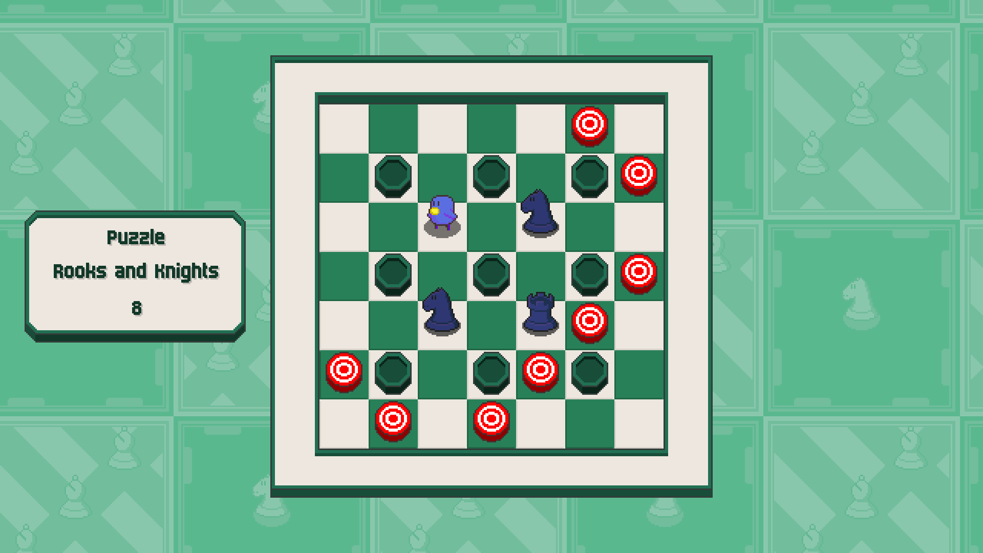 Chessplosion - Puzzle Solution Guide + Achievements Walkthrough - Expert: Rooks and Knights - 9F03F5C