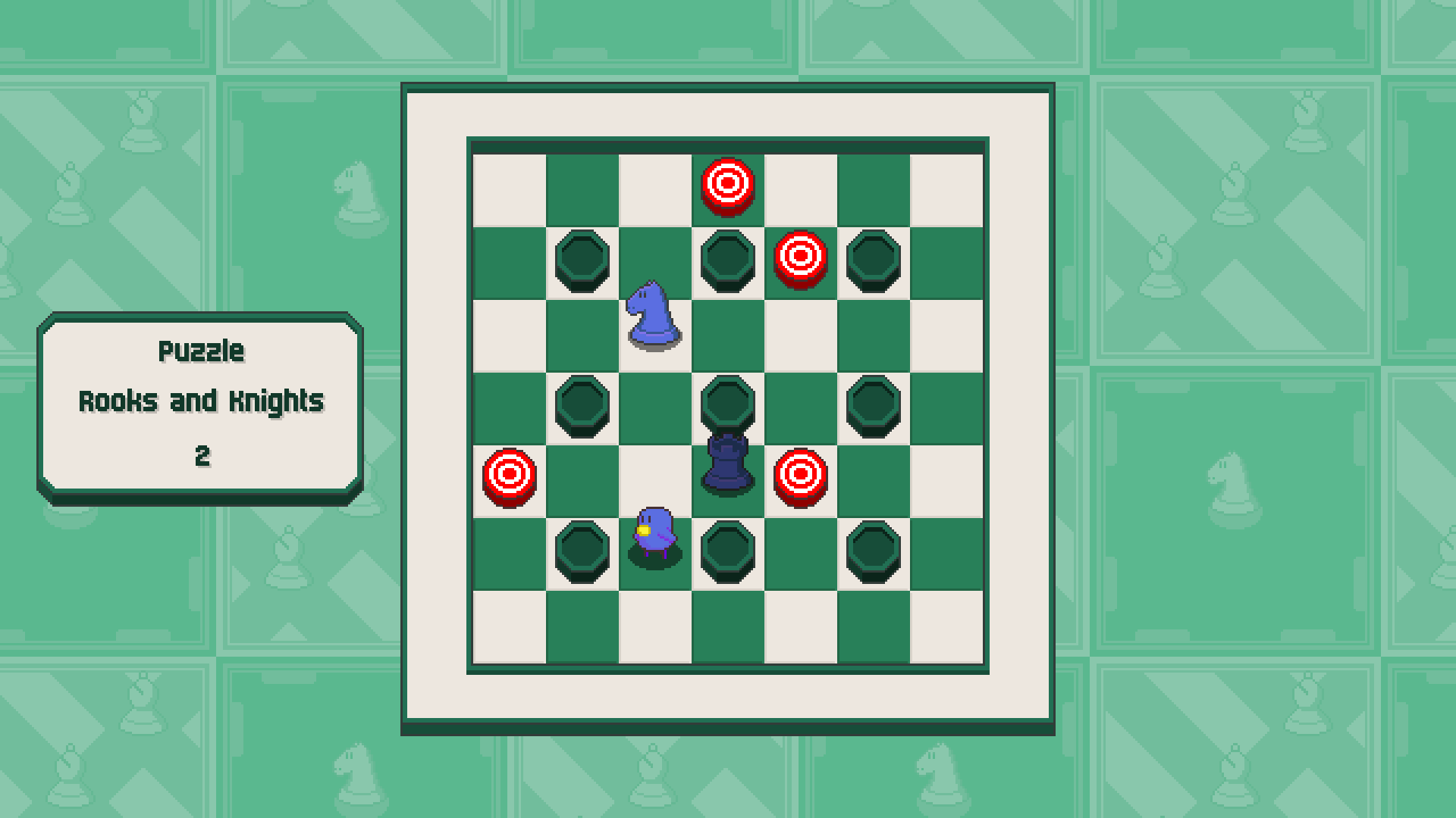 Chessplosion - Puzzle Solution Guide + Achievements Walkthrough - Expert: Rooks and Knights - B6F942A