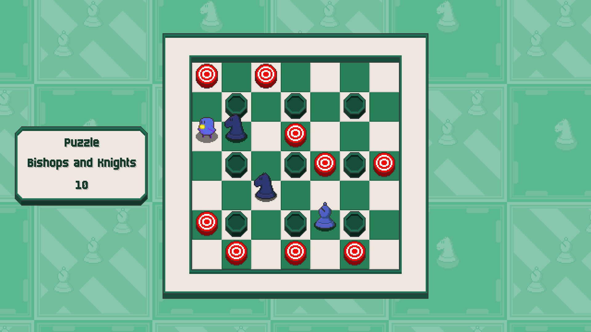 Chessplosion - Puzzle Solution Guide + Achievements Walkthrough - Grandblaster: Bishops and Knights - 0EFC043