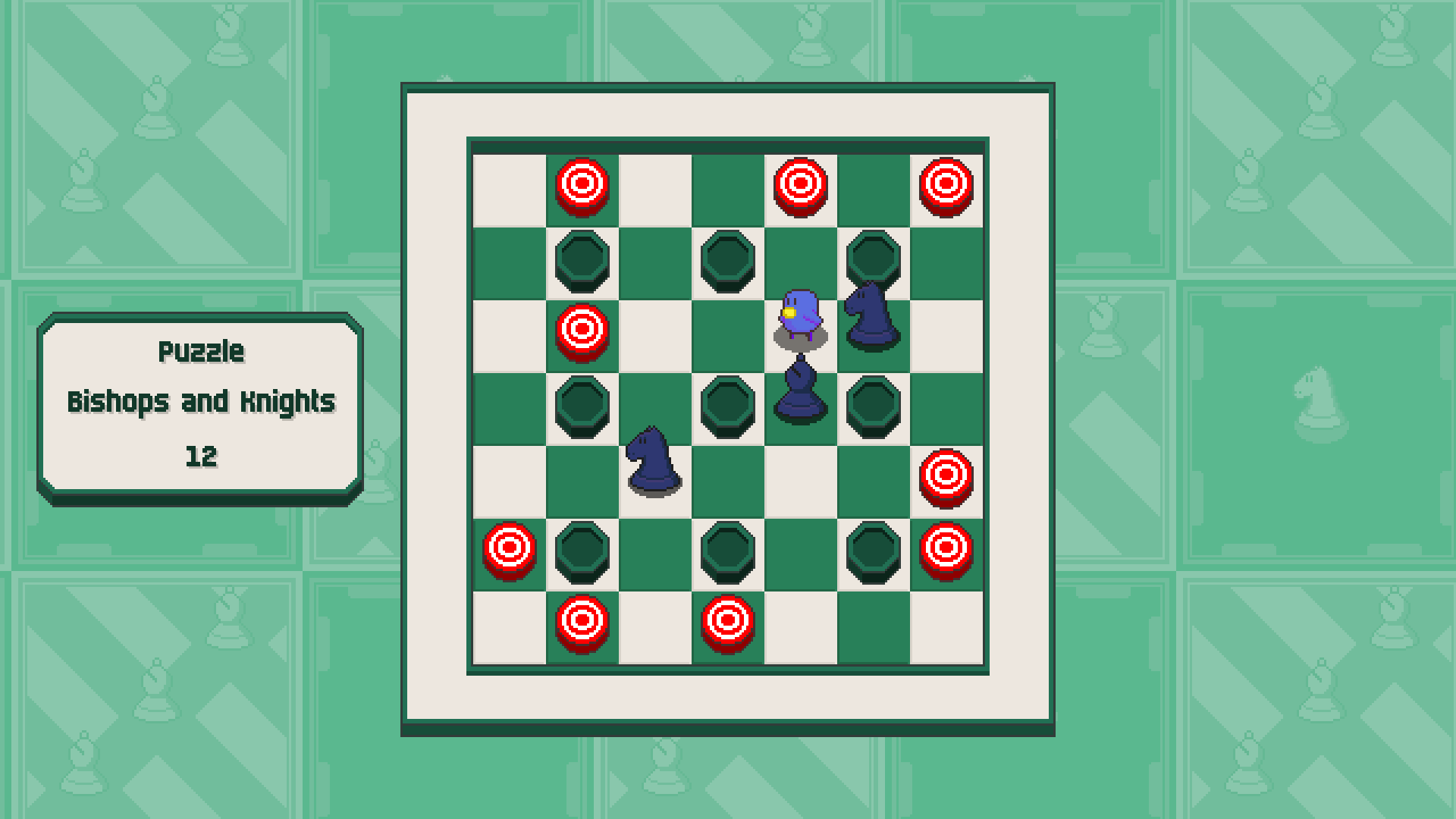 Chessplosion - Puzzle Solution Guide + Achievements Walkthrough - Grandblaster: Bishops and Knights - 434C50B