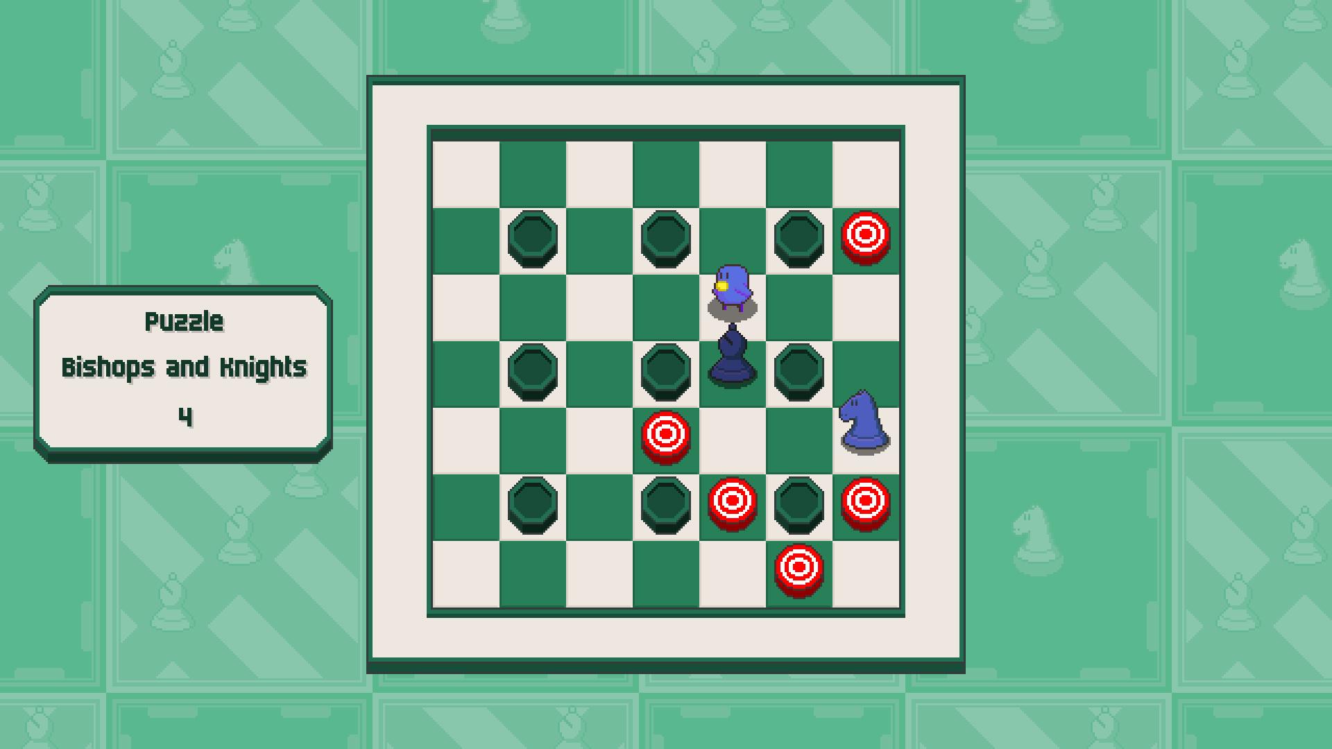 Chessplosion - Puzzle Solution Guide + Achievements Walkthrough - Grandblaster: Bishops and Knights - 49B60B2