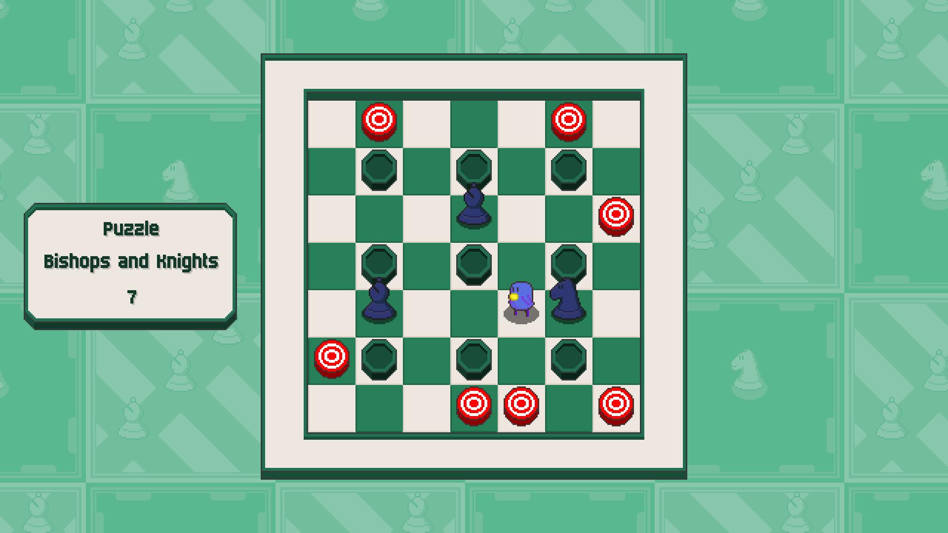 Chessplosion - Puzzle Solution Guide + Achievements Walkthrough - Grandblaster: Bishops and Knights - 4FCD815