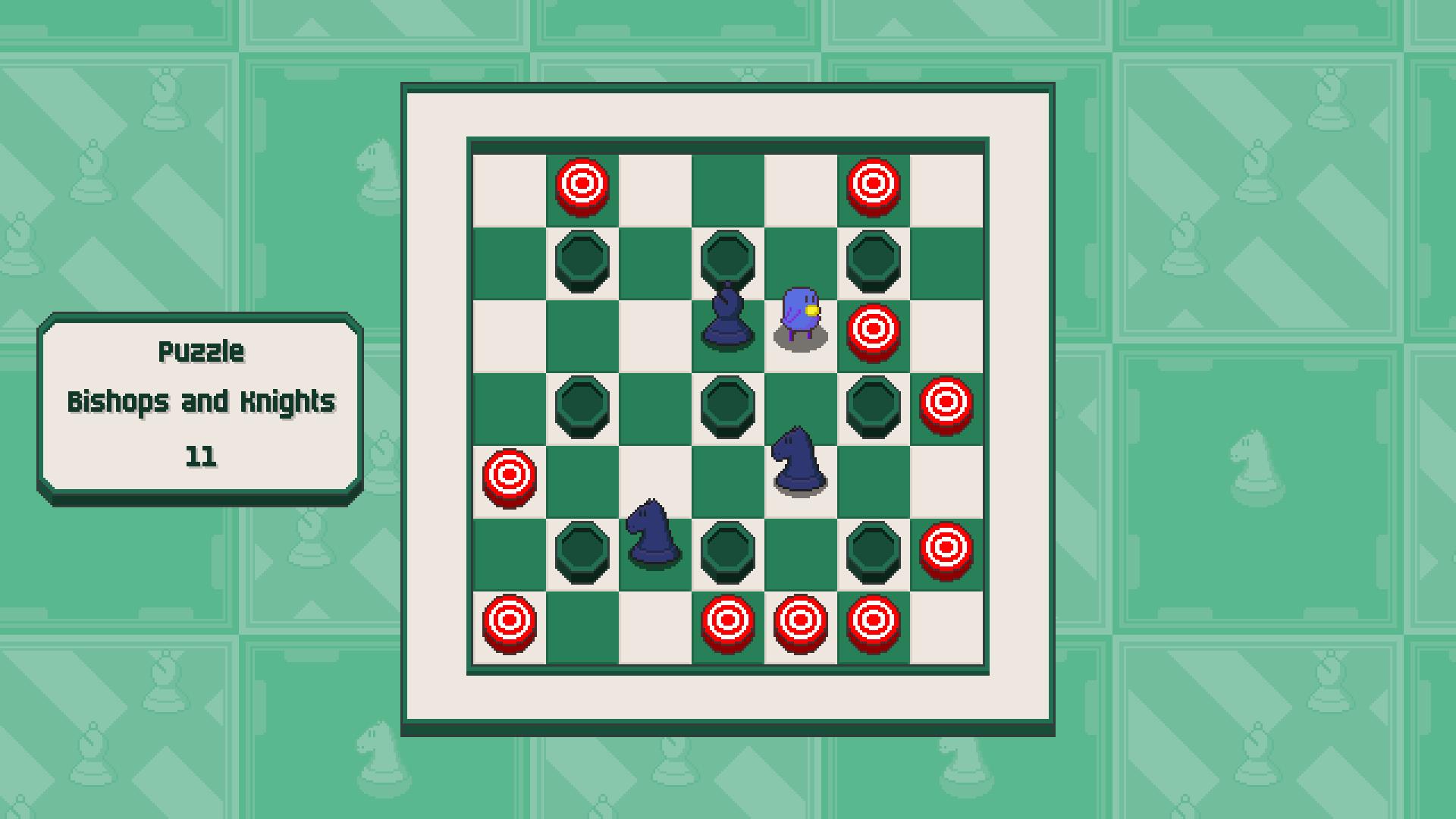 Chessplosion - Puzzle Solution Guide + Achievements Walkthrough - Grandblaster: Bishops and Knights - 594259E