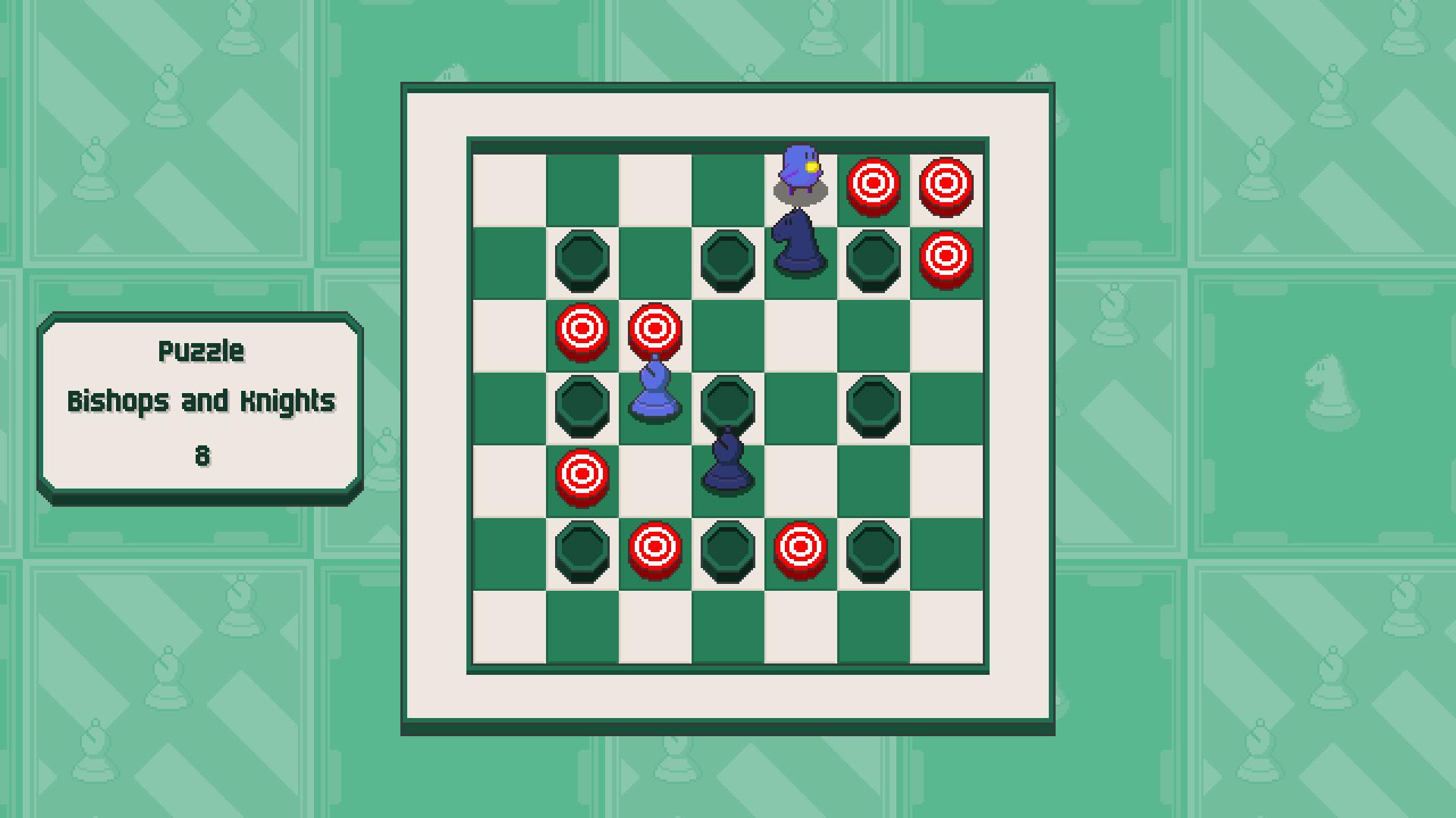 Chessplosion - Puzzle Solution Guide + Achievements Walkthrough - Grandblaster: Bishops and Knights - 5E9E612