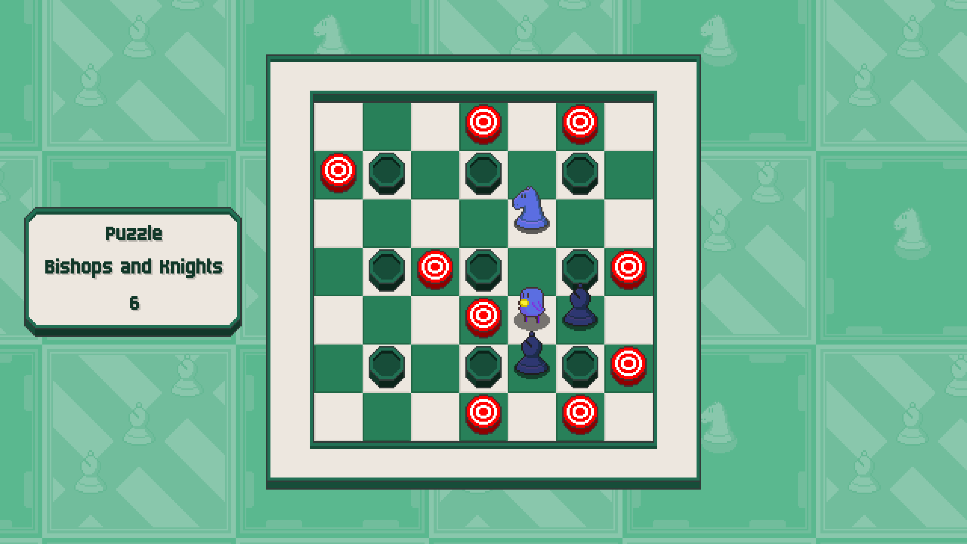 Chessplosion - Puzzle Solution Guide + Achievements Walkthrough - Grandblaster: Bishops and Knights - 98D2C99