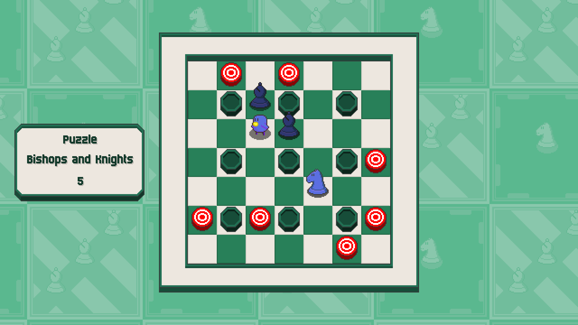 Chessplosion - Puzzle Solution Guide + Achievements Walkthrough - Grandblaster: Bishops and Knights - A3FA2AC