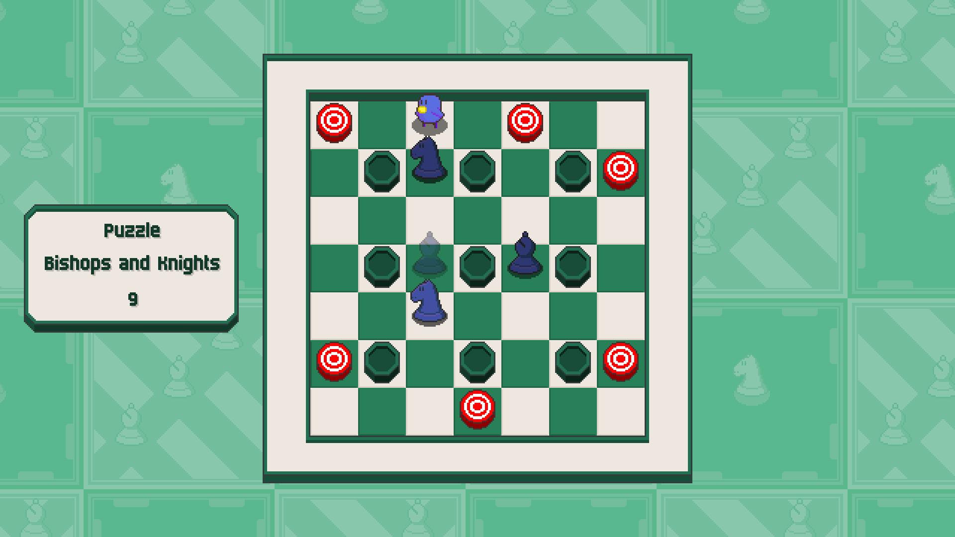 Chessplosion - Puzzle Solution Guide + Achievements Walkthrough - Grandblaster: Bishops and Knights - B0729E3