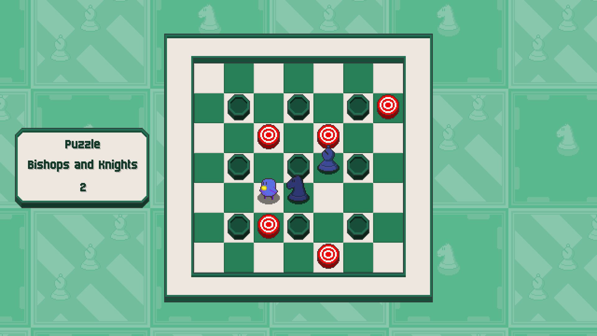 Chessplosion - Puzzle Solution Guide + Achievements Walkthrough - Grandblaster: Bishops and Knights - D29BE98
