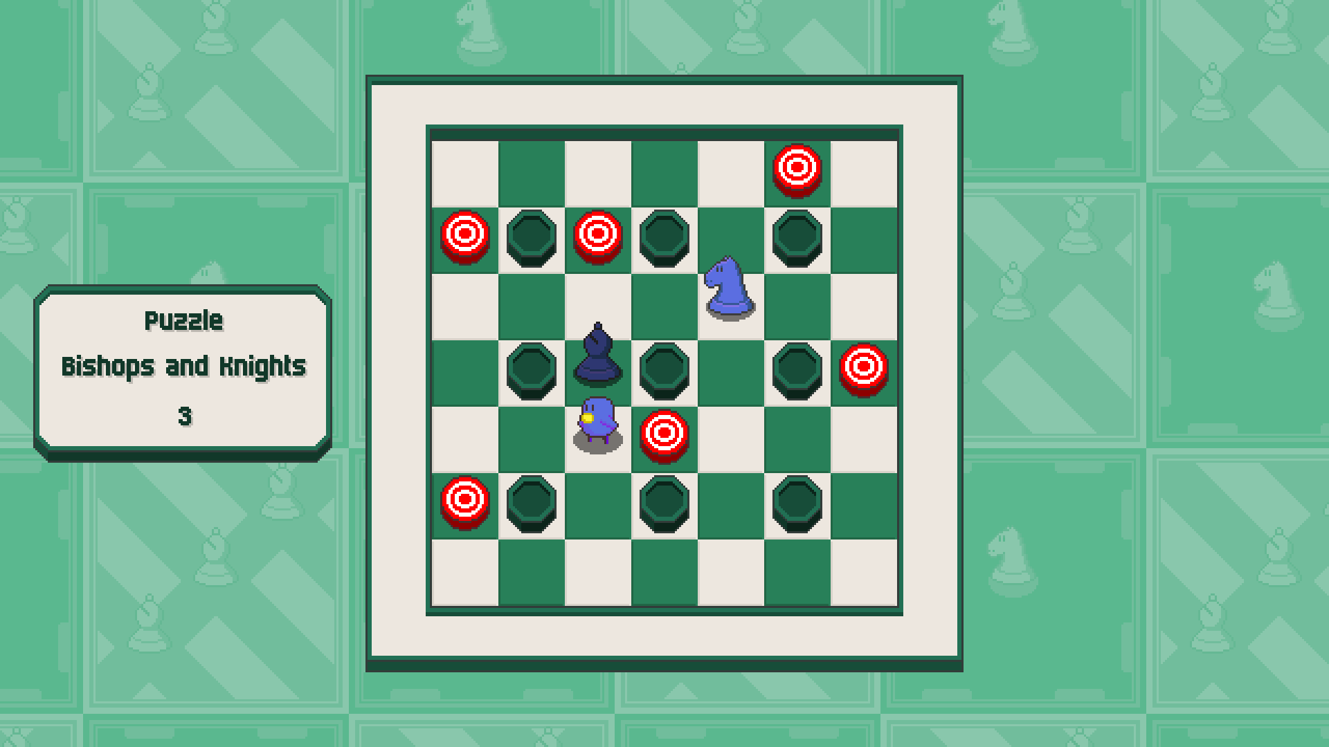Chessplosion - Puzzle Solution Guide + Achievements Walkthrough - Grandblaster: Bishops and Knights - F22052F