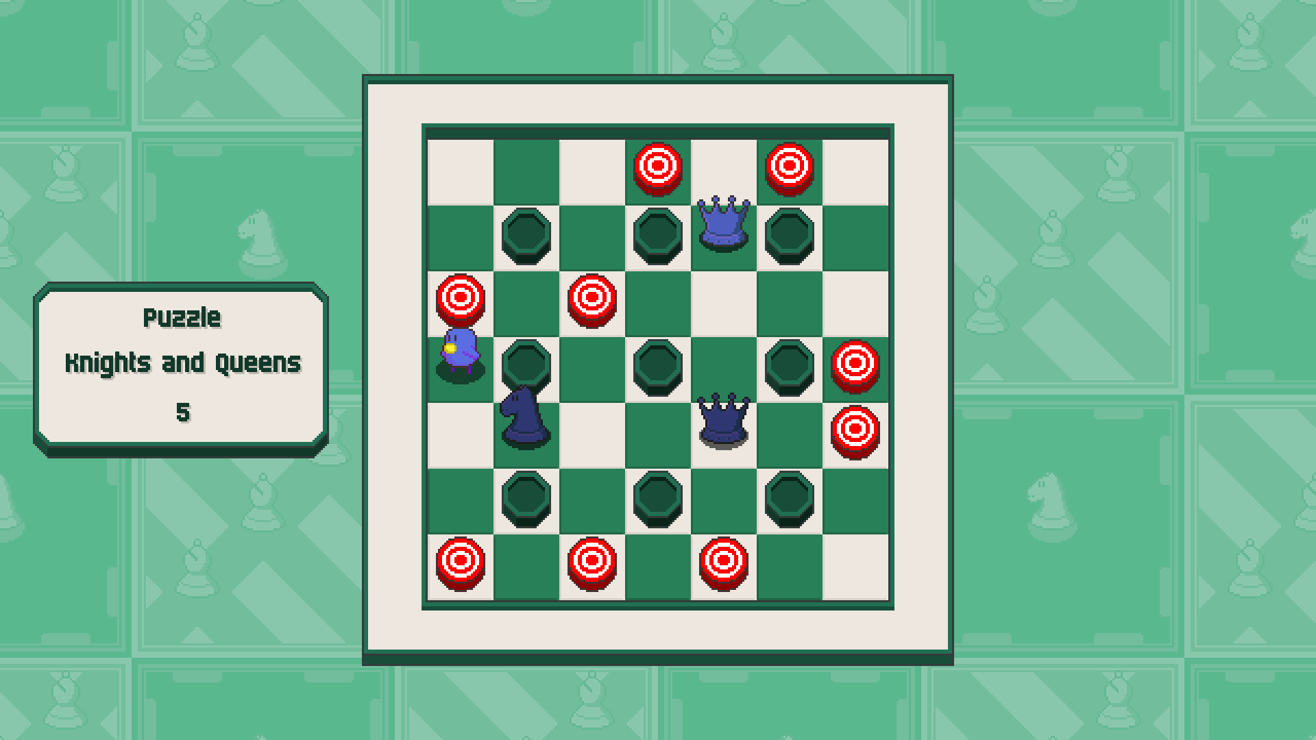 Chessplosion - Puzzle Solution Guide + Achievements Walkthrough - Grandblaster: Knights and Queens - 22D6D63