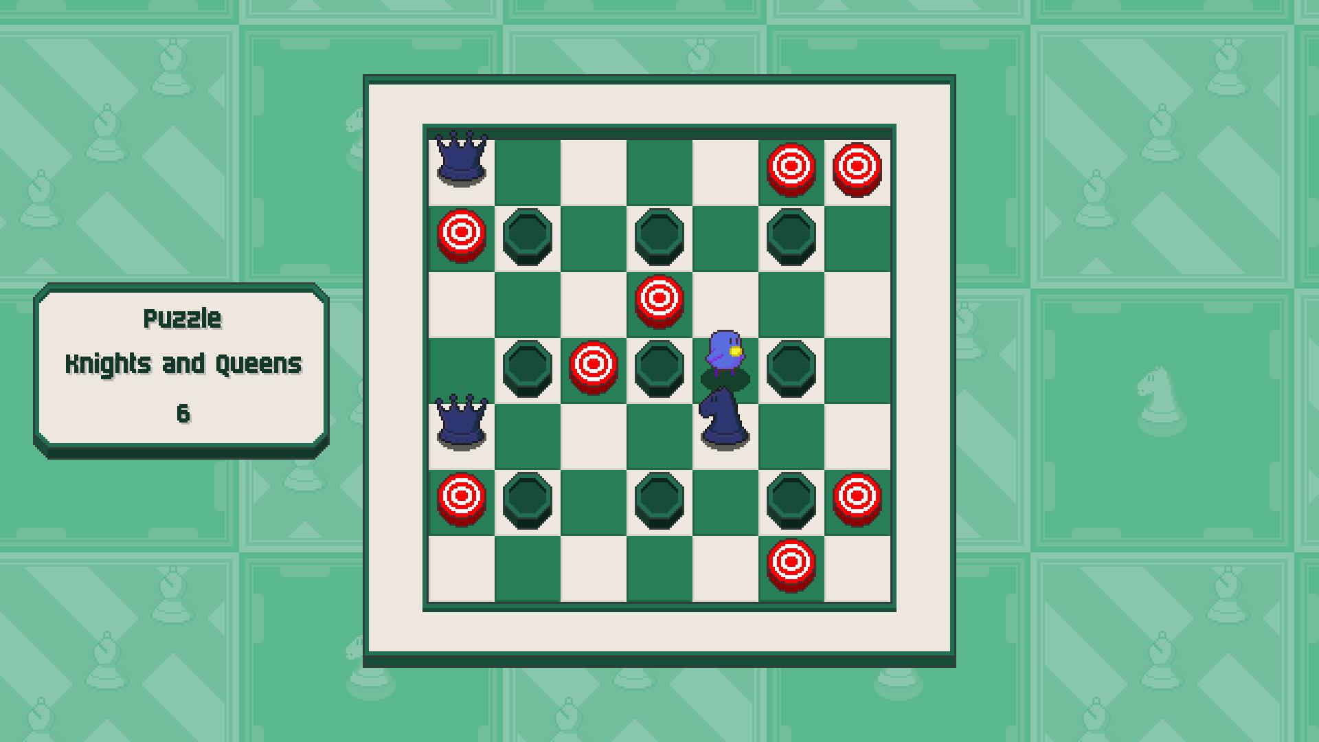 Chessplosion - Puzzle Solution Guide + Achievements Walkthrough - Grandblaster: Knights and Queens - 392CA51