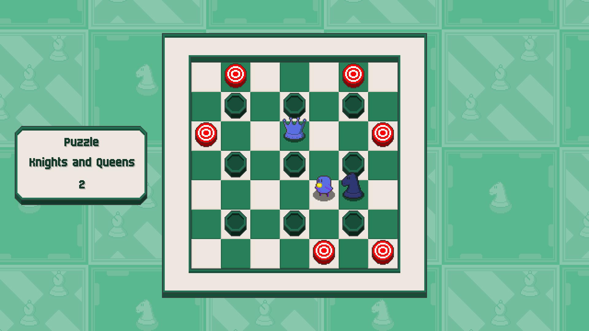 Chessplosion - Puzzle Solution Guide + Achievements Walkthrough - Grandblaster: Knights and Queens - 395CC5C
