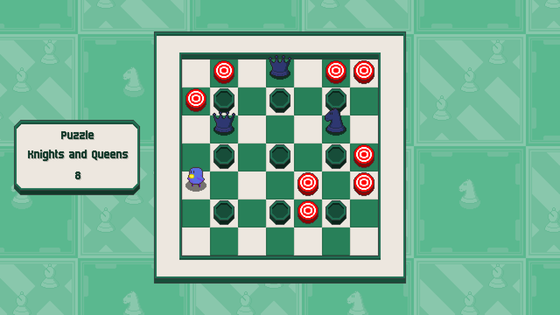 Chessplosion - Puzzle Solution Guide + Achievements Walkthrough - Grandblaster: Knights and Queens - 66A0996