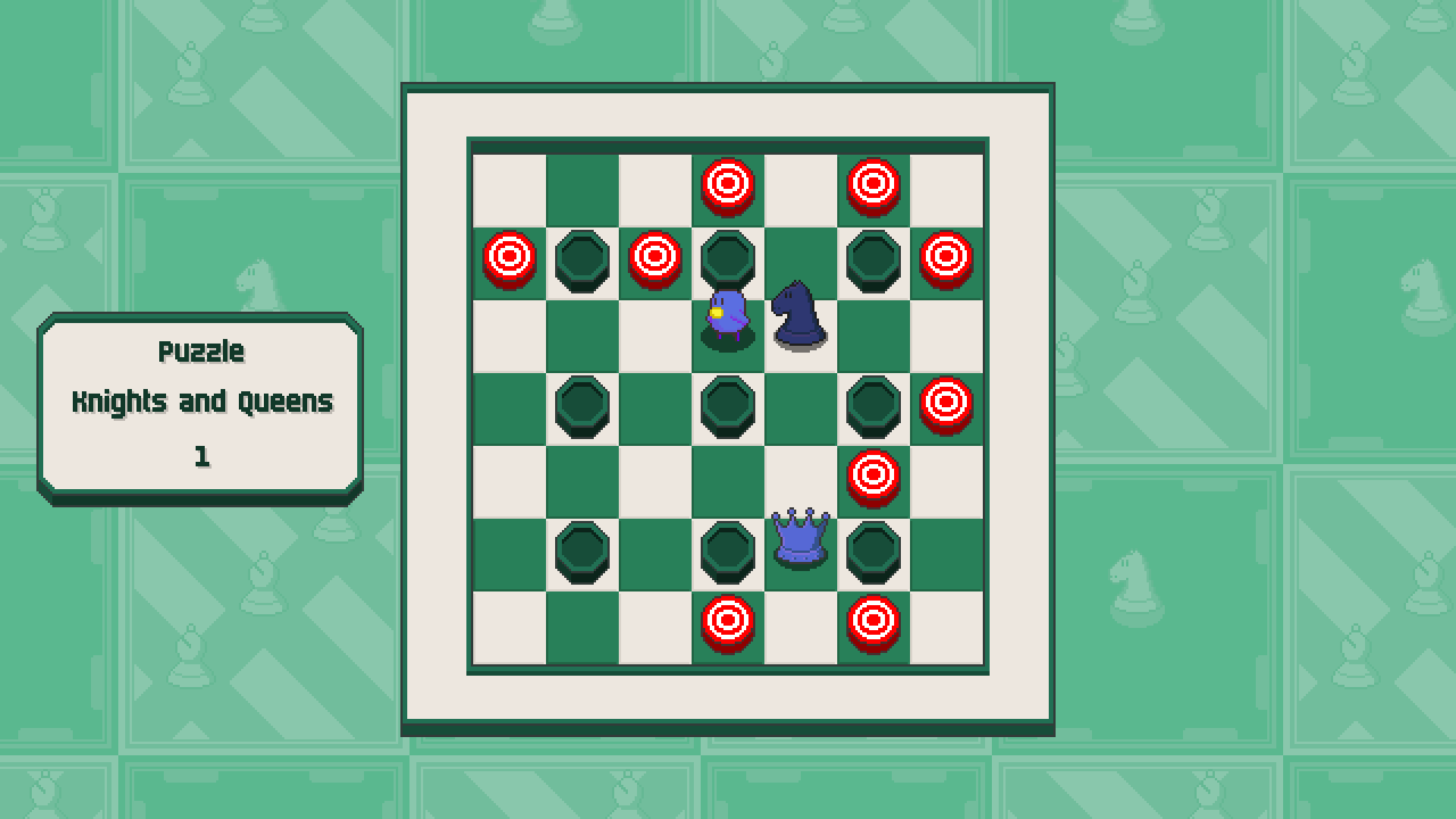 Chessplosion - Puzzle Solution Guide + Achievements Walkthrough - Grandblaster: Knights and Queens - 6FACD3F