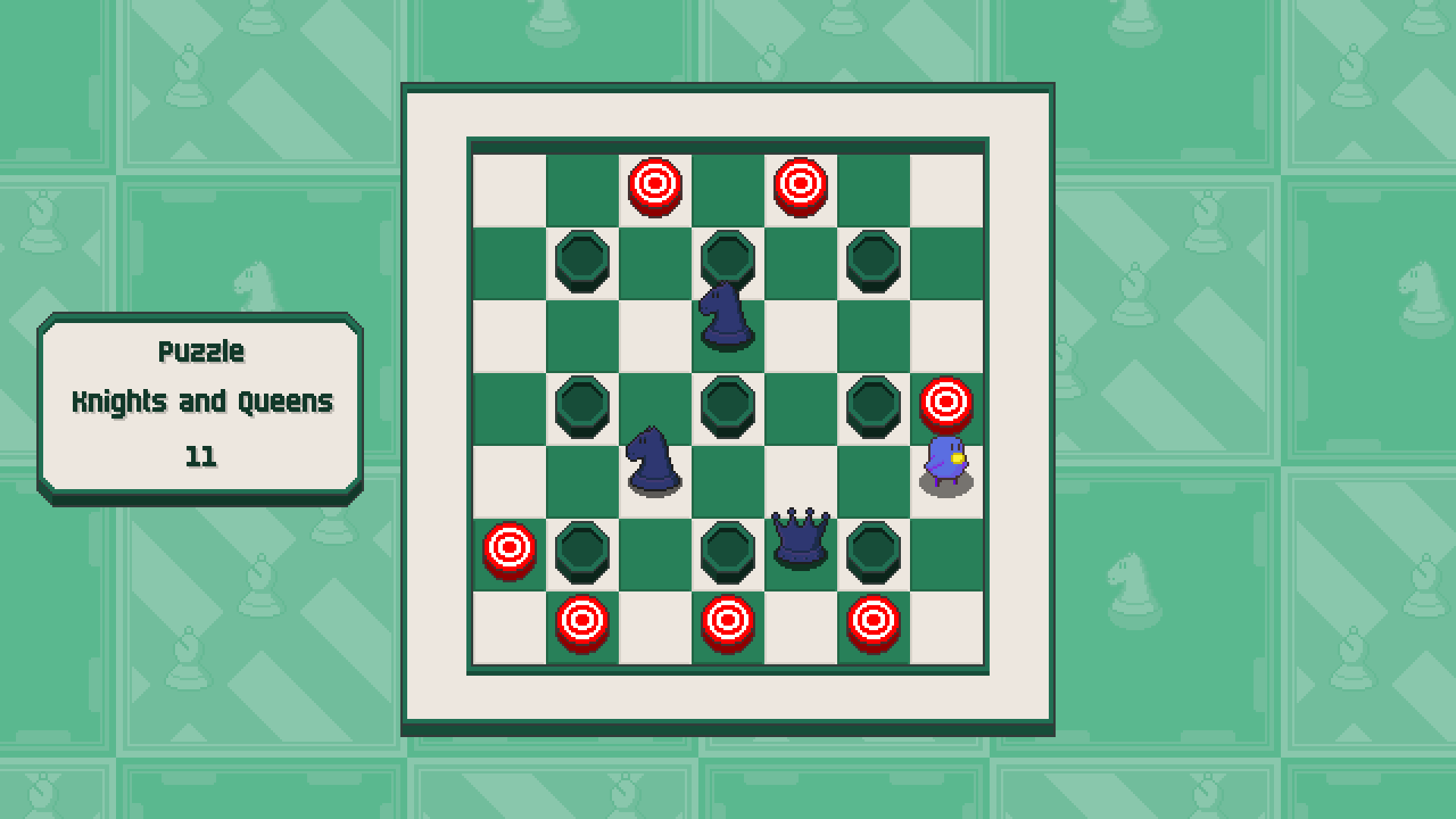 Chessplosion - Puzzle Solution Guide + Achievements Walkthrough - Grandblaster: Knights and Queens - 9FE63EA