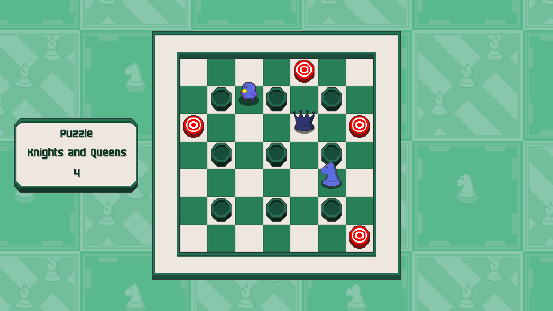 Chessplosion - Puzzle Solution Guide + Achievements Walkthrough - Grandblaster: Knights and Queens - B1A59F2