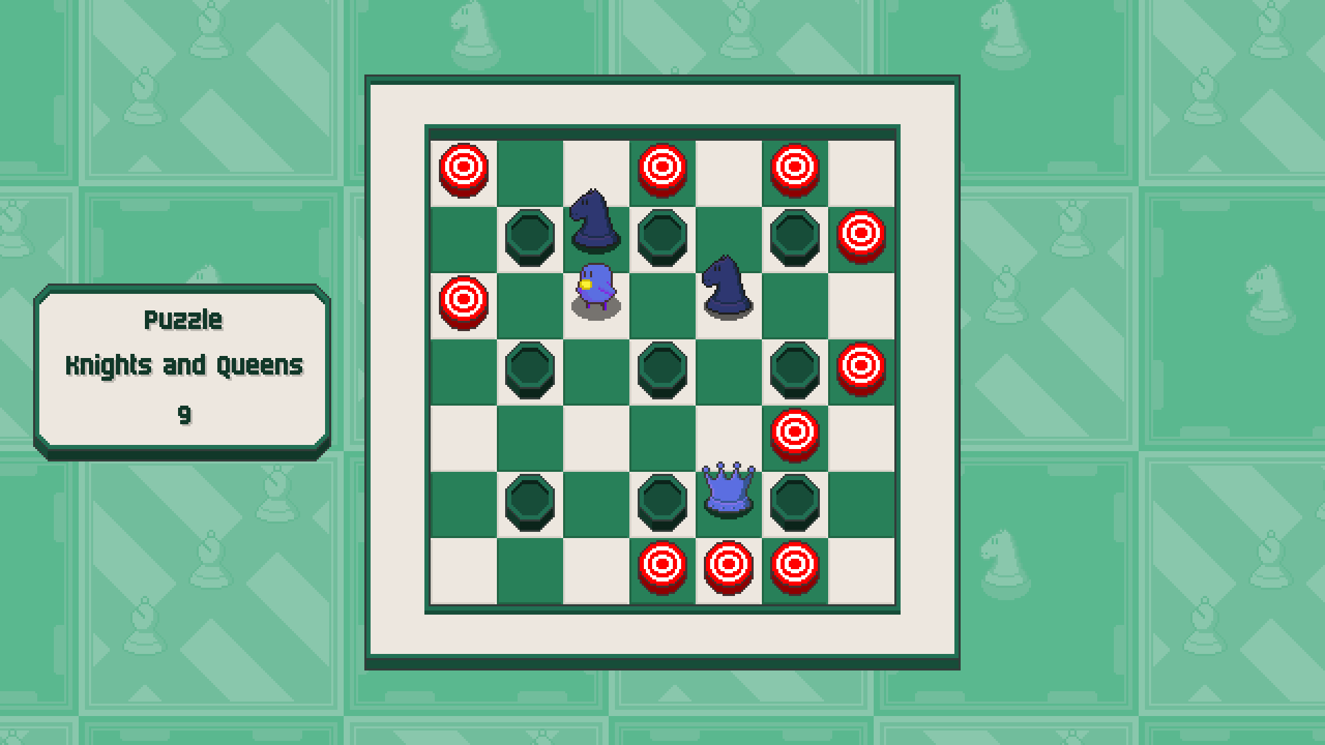 Chessplosion - Puzzle Solution Guide + Achievements Walkthrough - Grandblaster: Knights and Queens - CFB88B3