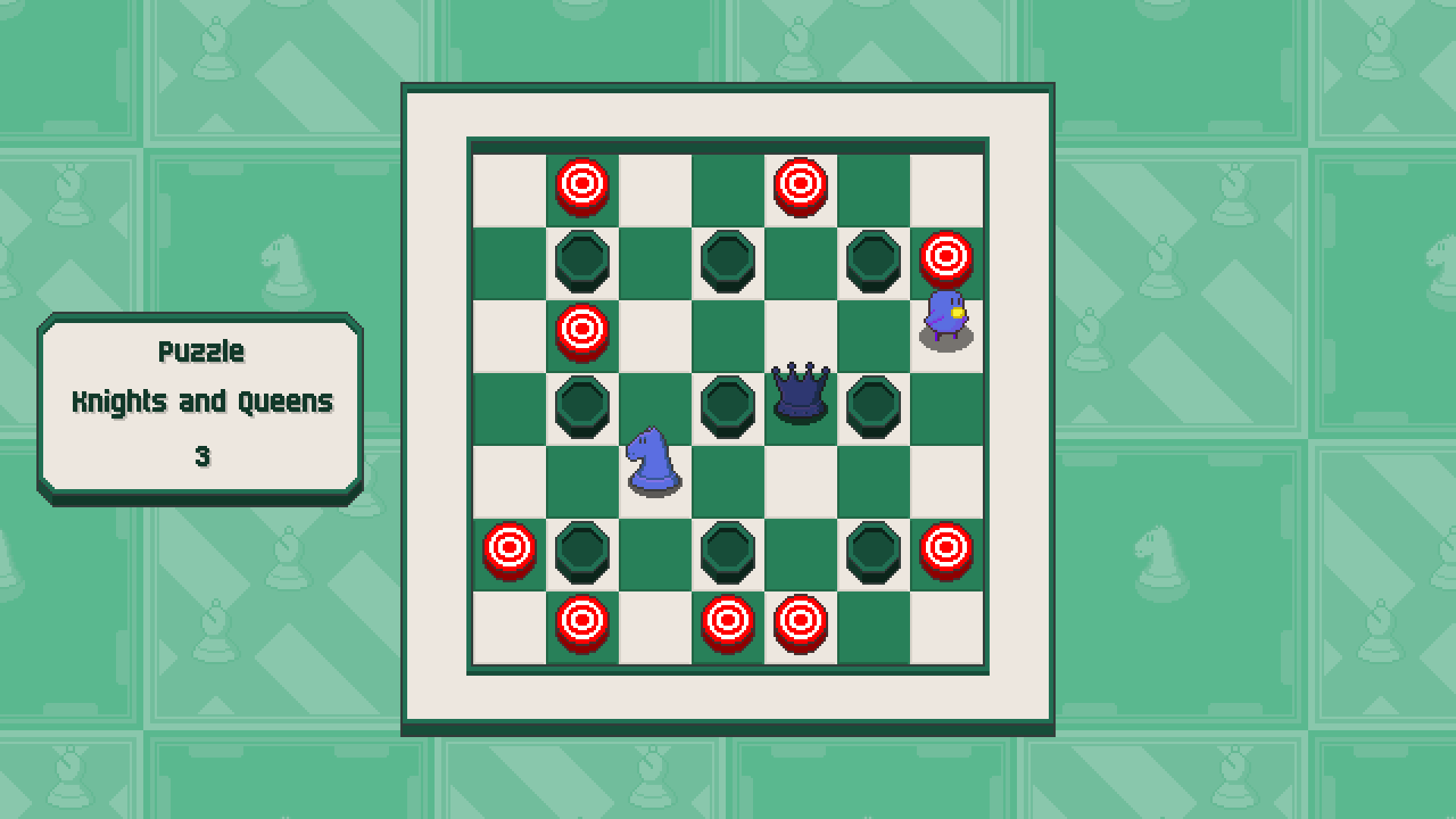 Chessplosion - Puzzle Solution Guide + Achievements Walkthrough - Grandblaster: Knights and Queens - E5288A8