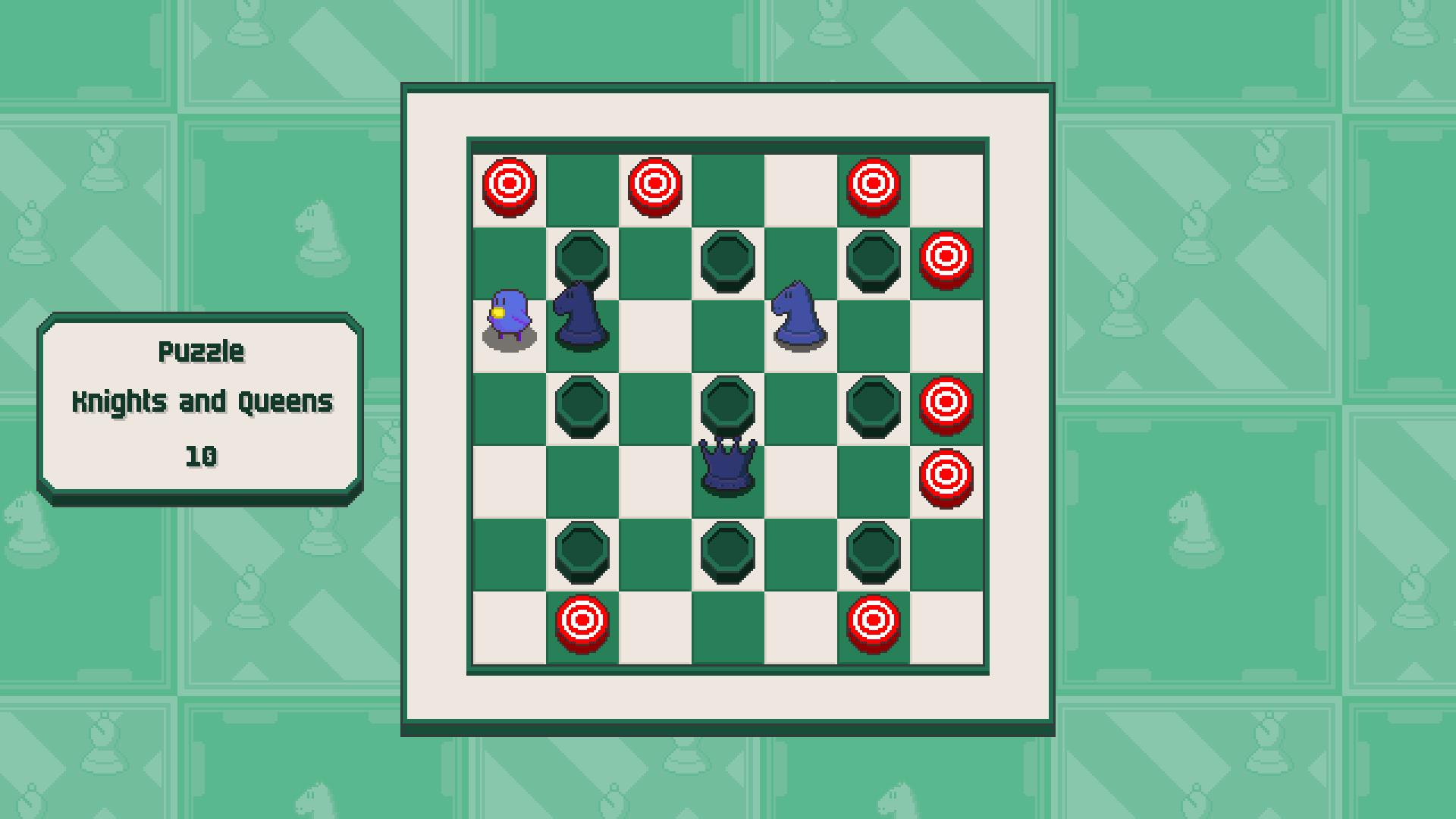 Chessplosion - Puzzle Solution Guide + Achievements Walkthrough - Grandblaster: Knights and Queens - F63F95B