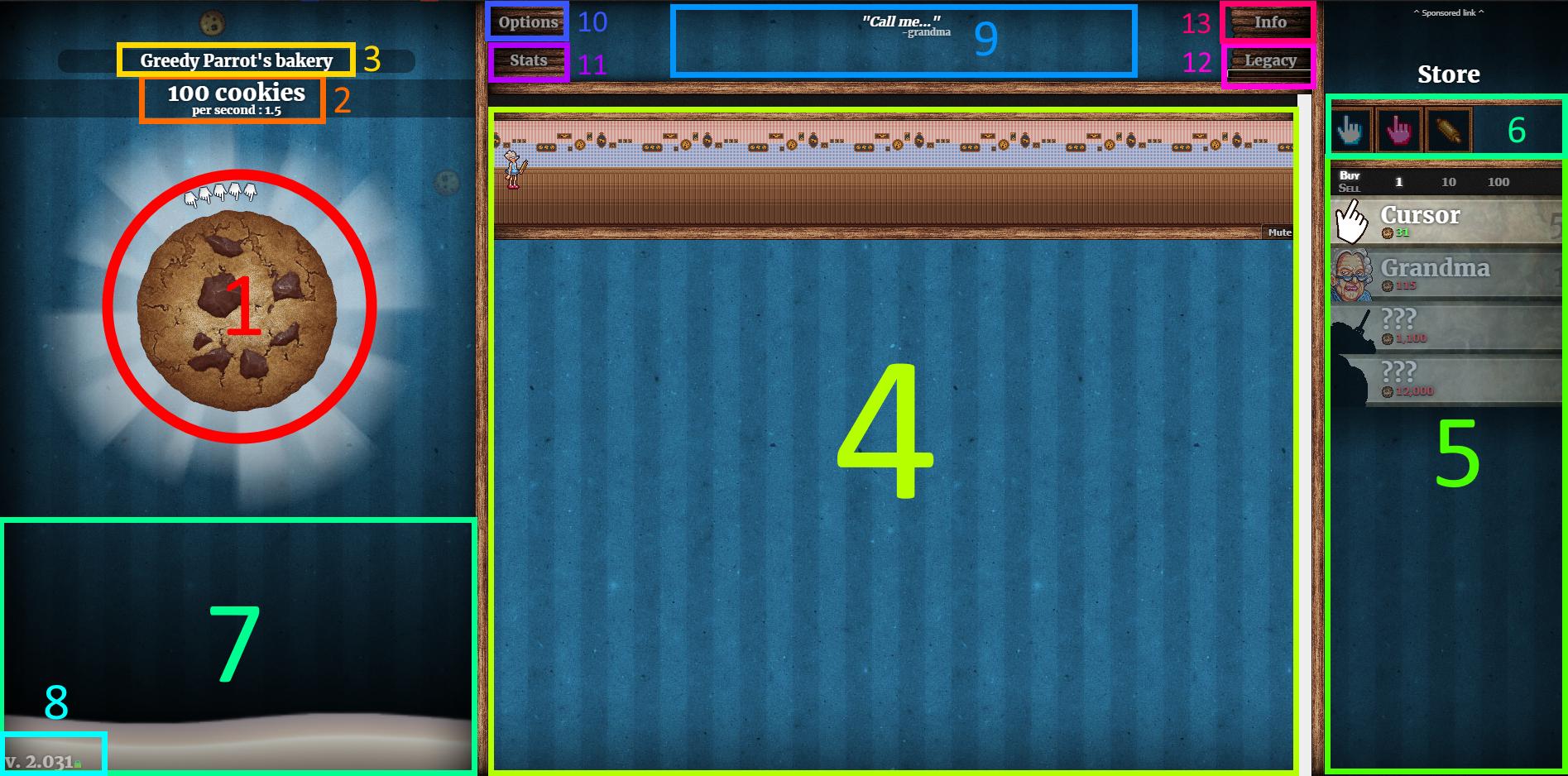 Cookie Clicker - Basic Gameplay Tips for Beginners - Walkthrough - No Cookies - EA44829