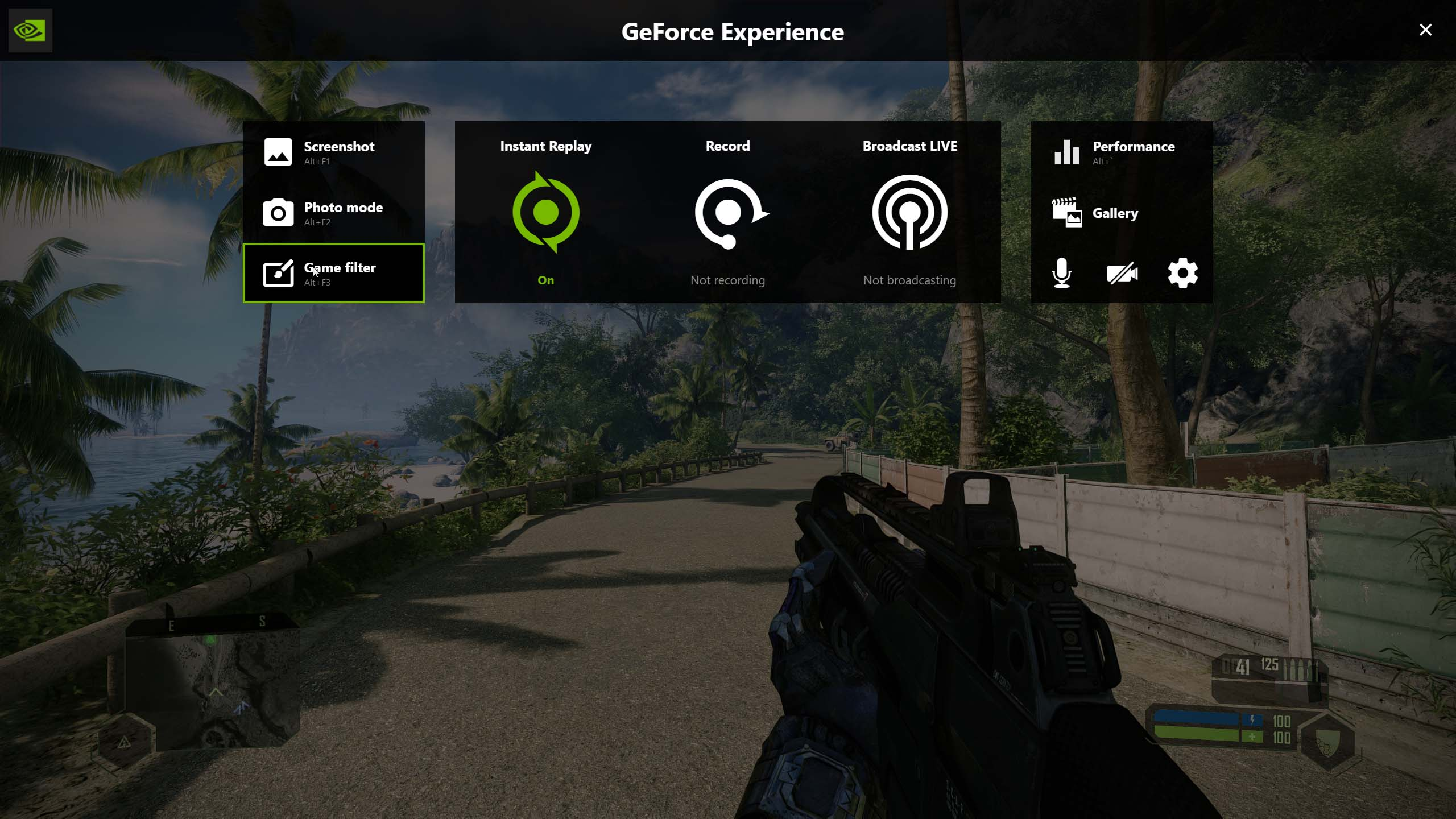 Crysis Remastered - How to Improve Image Quality on Geforce Experience in Game - Color settings - 9E7D04D
