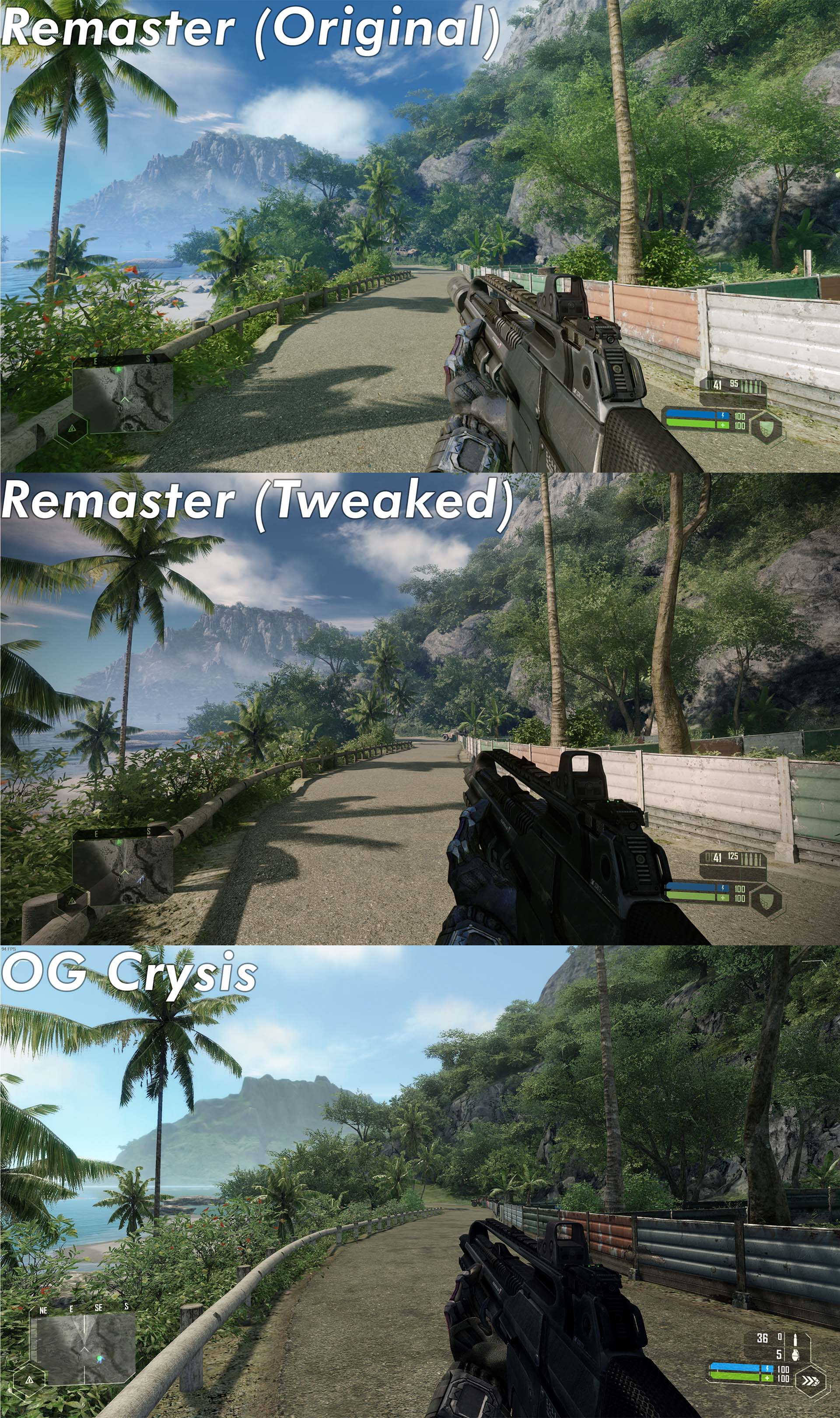 Crysis Remastered - How to Improve Image Quality on Geforce Experience in Game - How it looks and how to do it - 9F74E3D