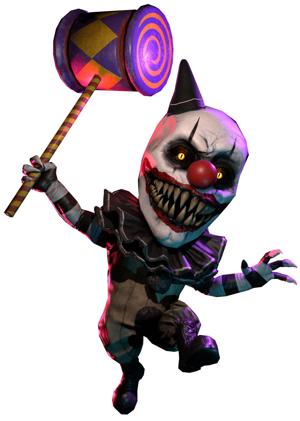 Dark Deception: Monsters & Mortals - All About Clown Gremlin Information and Gameplay Tips - Background Info - F355B46