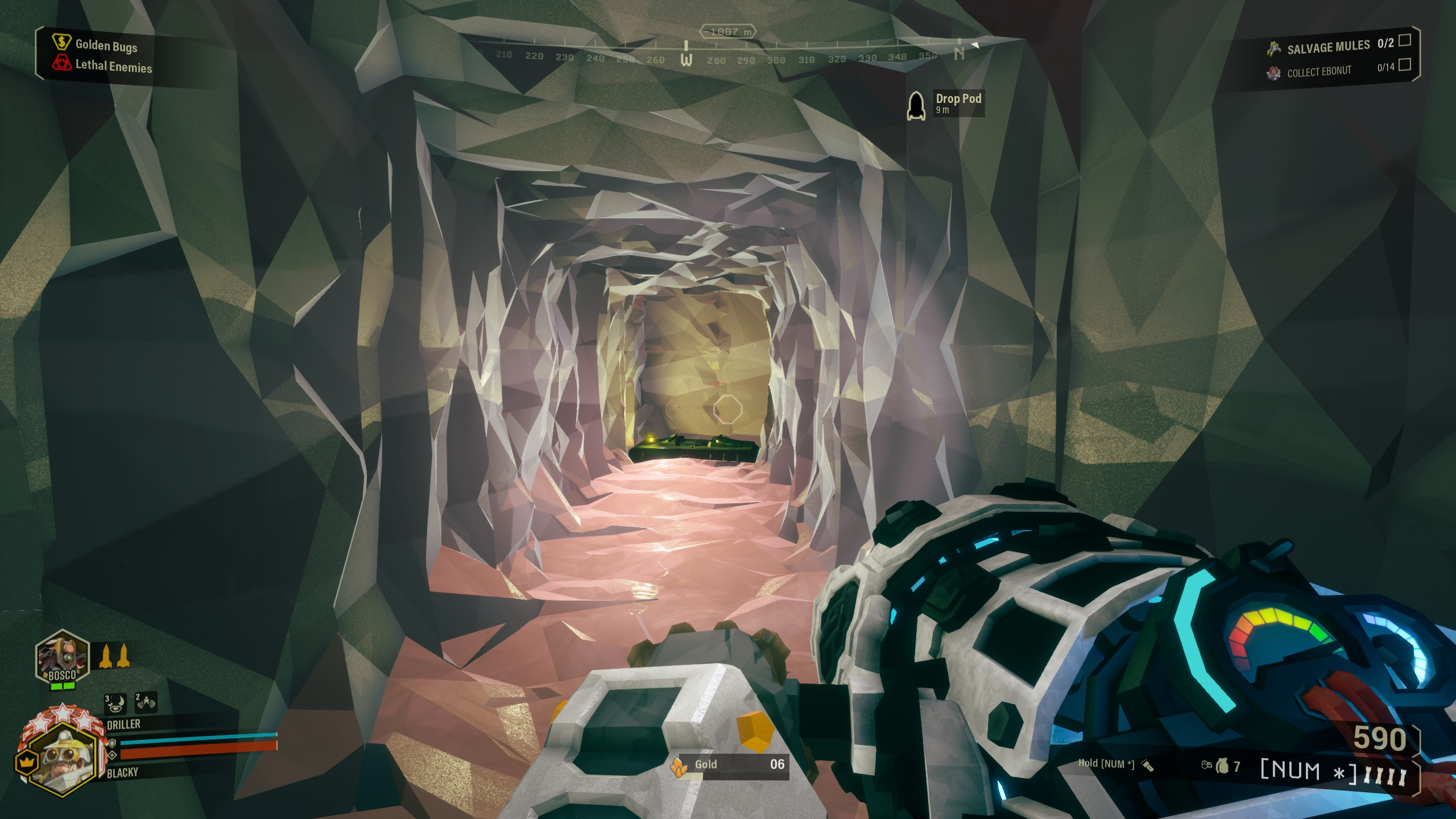 Deep Rock Galactic - Best Strategy for Building Bunker in Game - Bunker for a salvage operation - 650CEDD