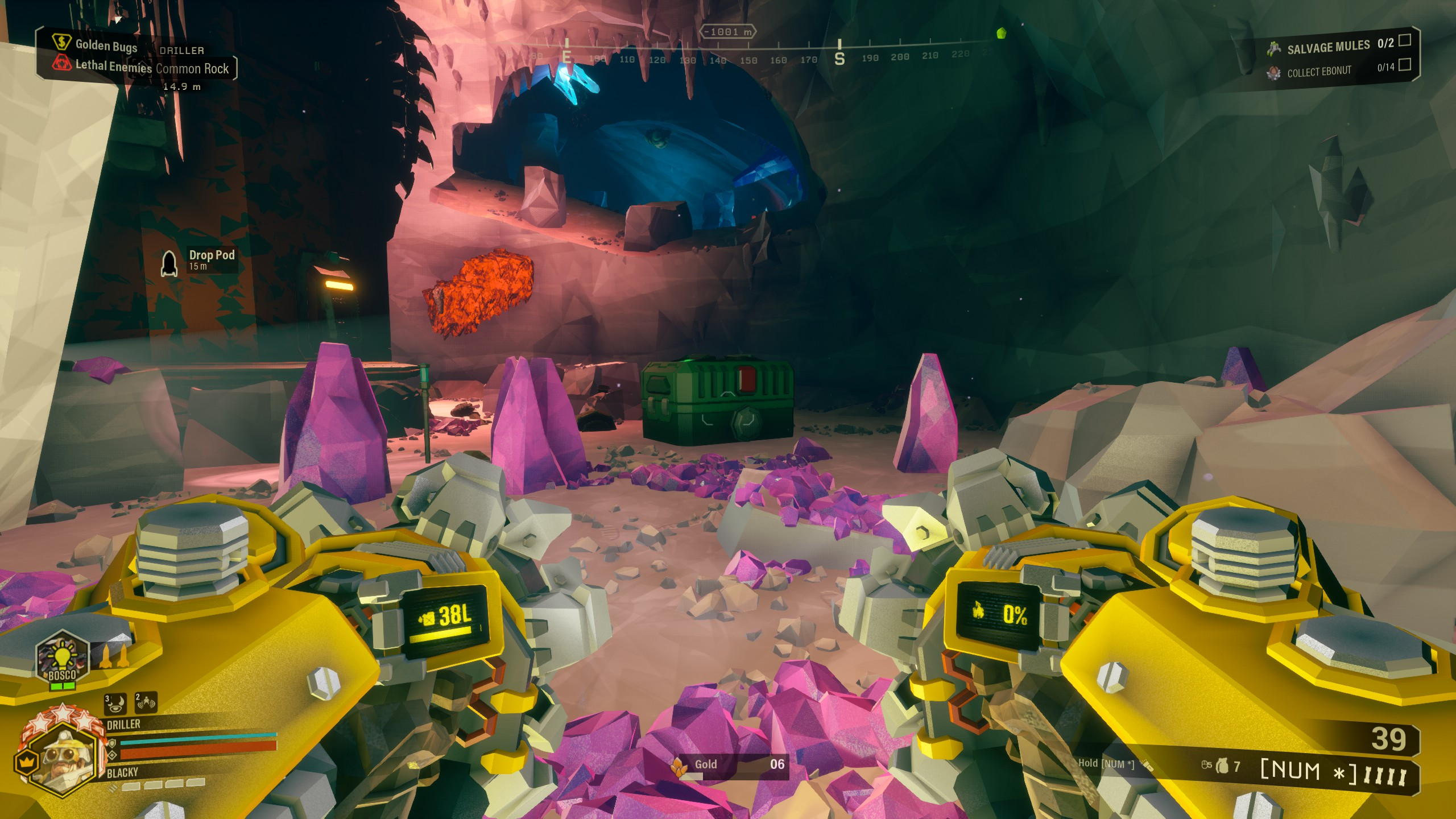 Deep Rock Galactic - Best Strategy for Building Bunker in Game - Bunker for a salvage operation - 8054672