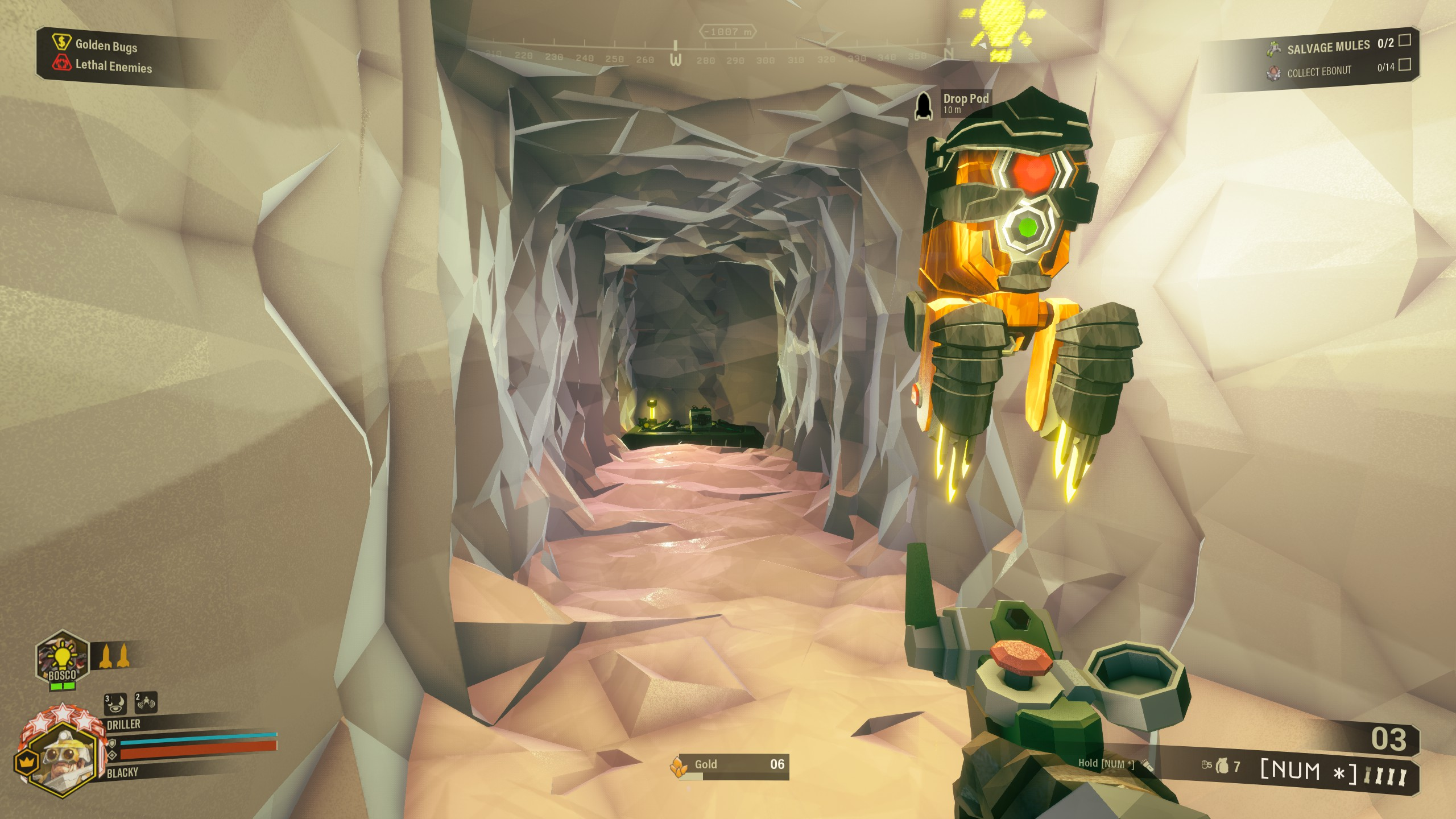 Deep Rock Galactic - Best Strategy for Building Bunker in Game - Bunker for a salvage operation - C01E6EB