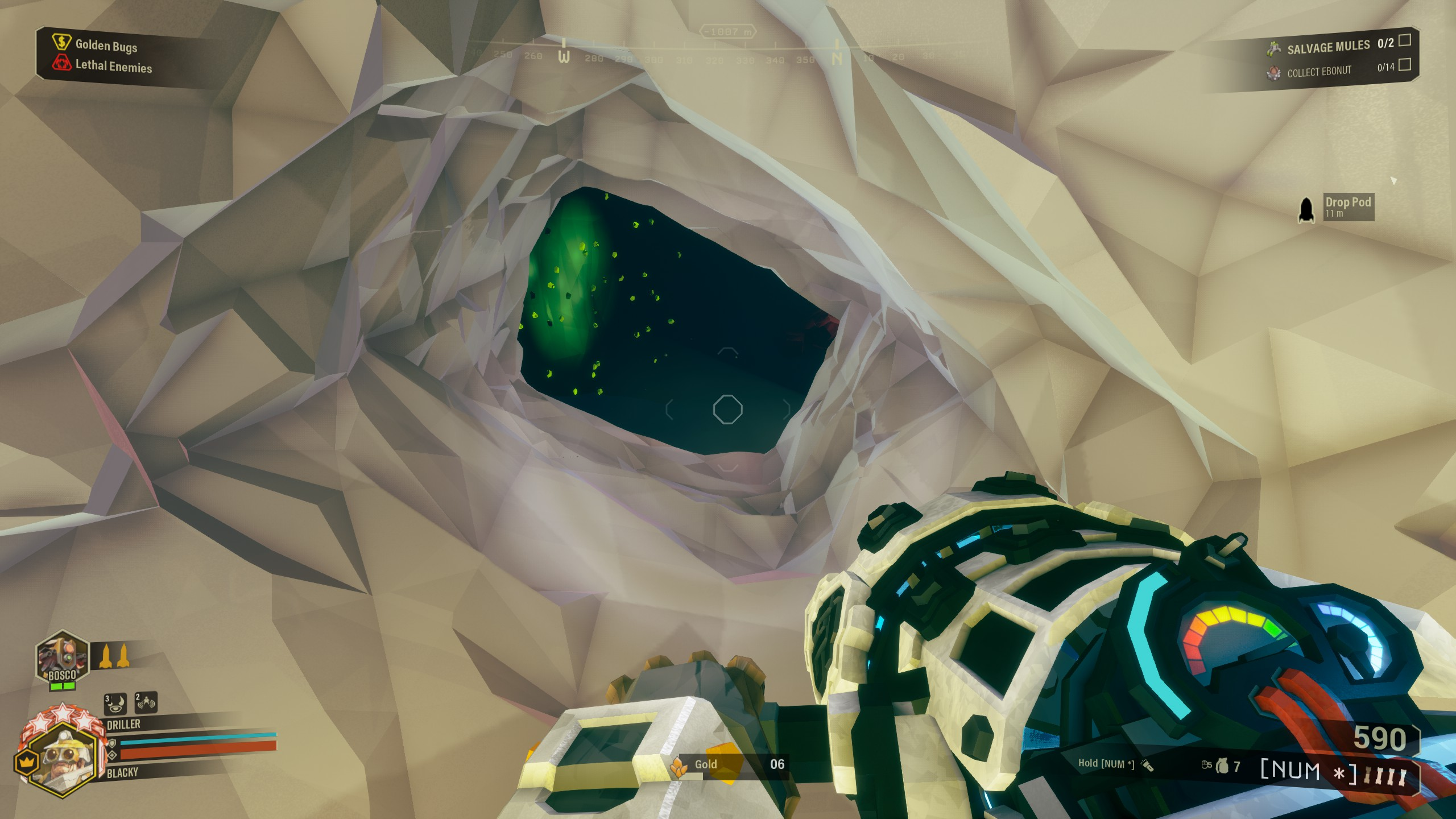 Deep Rock Galactic - Best Strategy for Building Bunker in Game - Bunker for a salvage operation - FD0F71D