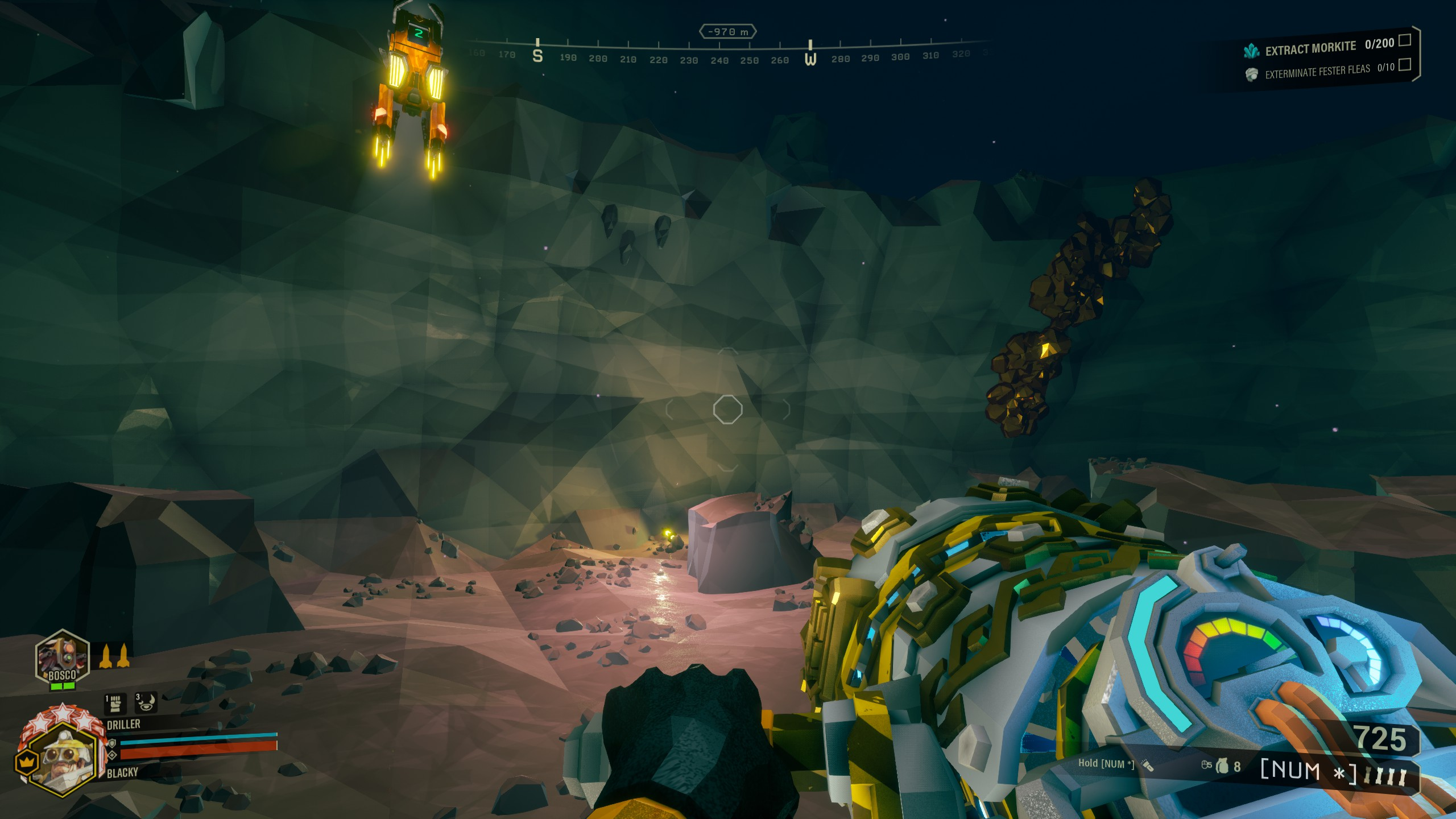 Deep Rock Galactic - Best Strategy for Building Bunker in Game - Bunker for a typical swarm alert - C741CE2