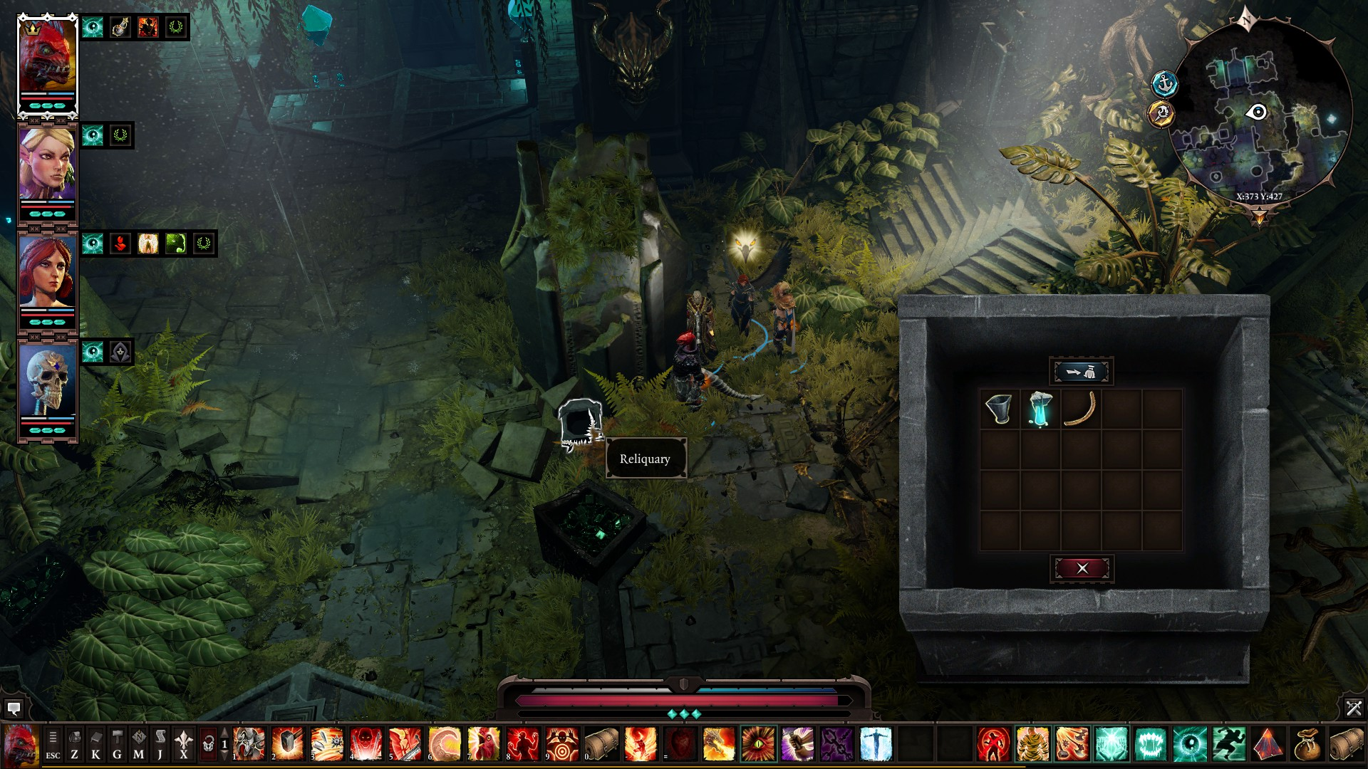 Divinity: Original Sin 2 - All Eternal Artefacts Location Tips - ACT III - The Nameless Isle - 79FB15C