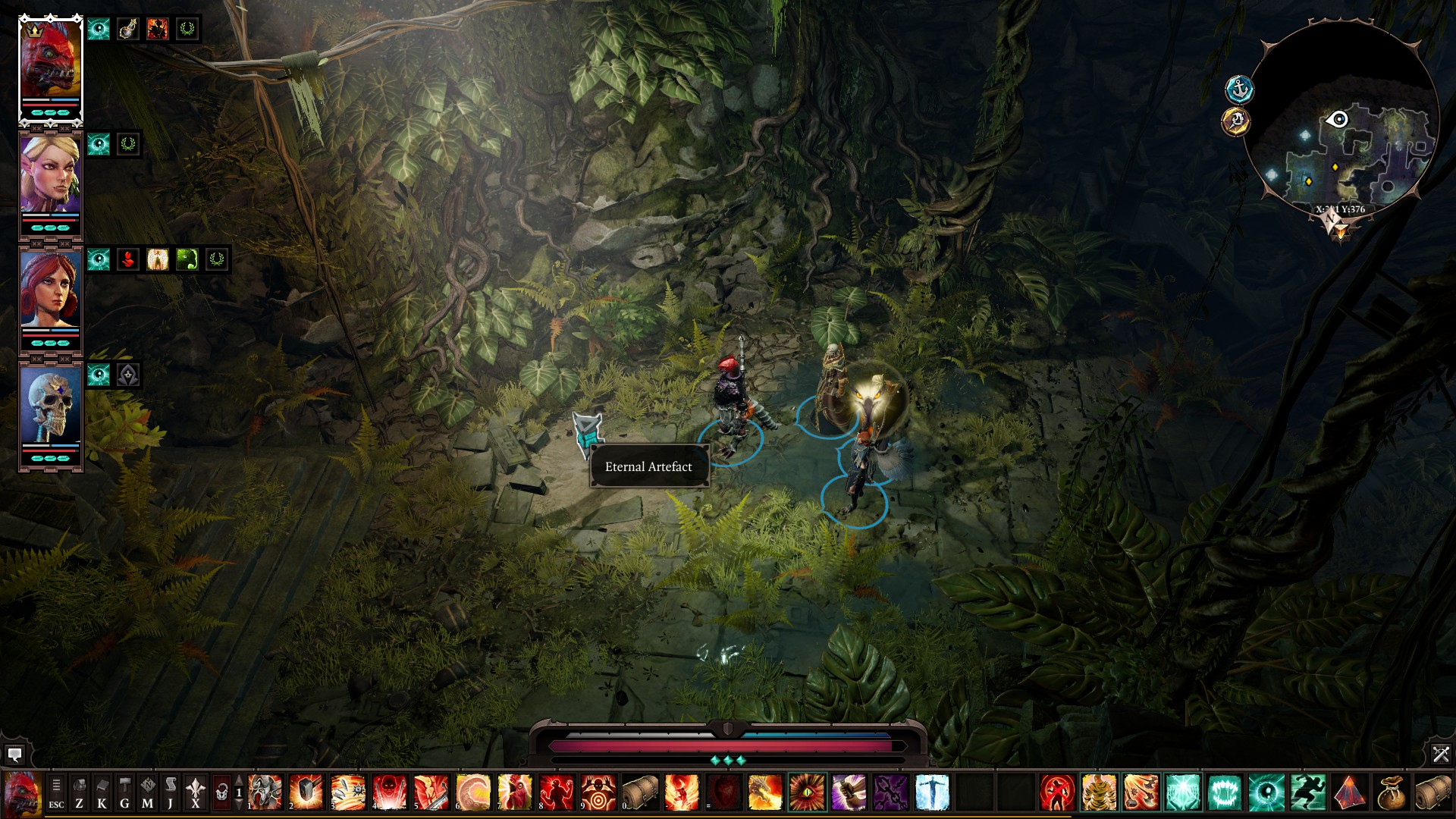 Divinity: Original Sin 2 - All Eternal Artefacts Location Tips - ACT III - The Nameless Isle - B1842CA