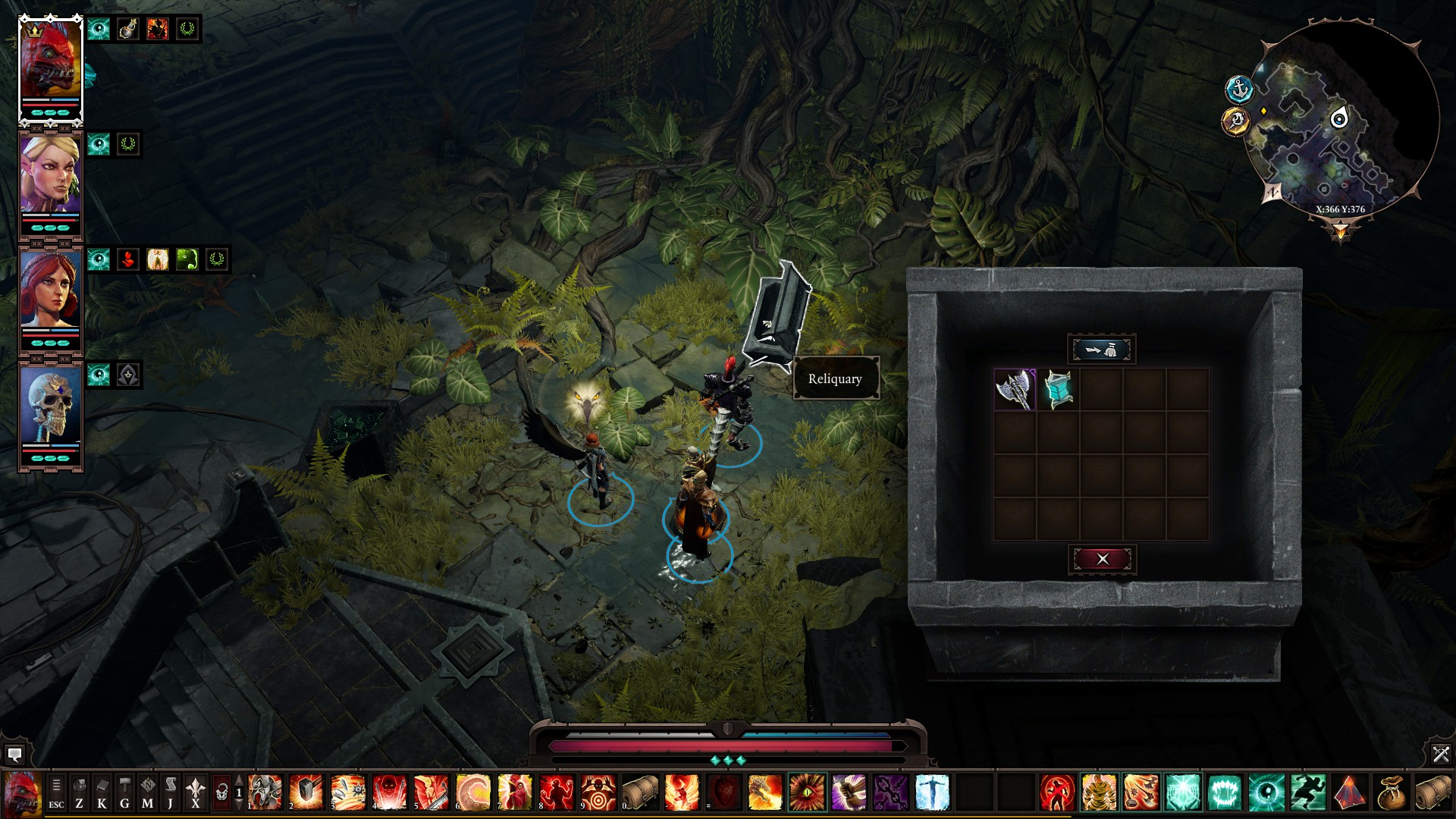 Divinity: Original Sin 2 - All Eternal Artefacts Location Tips - ACT III - The Nameless Isle - D3392BA