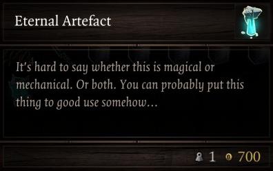 Divinity: Original Sin 2 - All Eternal Artefacts Location Tips - ETERNAL ARTEFACT - WEAPON - 886B48F