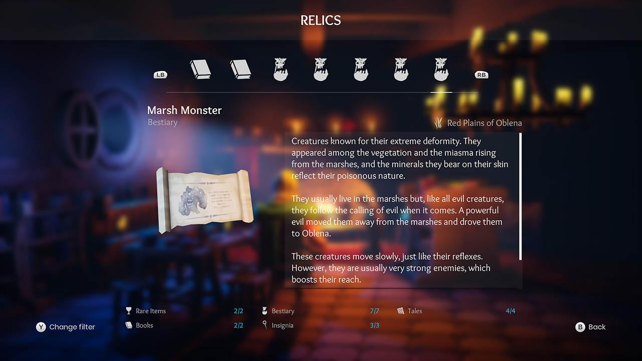 Effie - All Relics & All Achievements - Walkthrough - Addendum: Relic Texts - 060EDAF