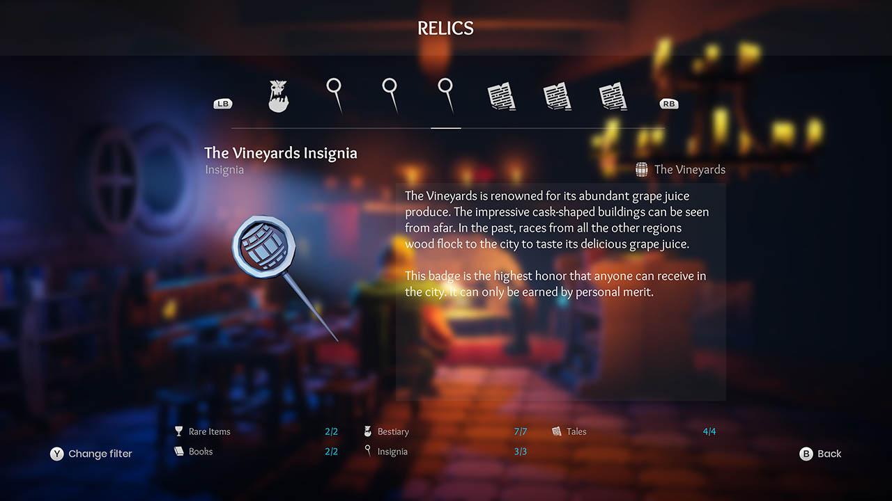 Effie - All Relics & All Achievements - Walkthrough - Addendum: Relic Texts - 381A23A