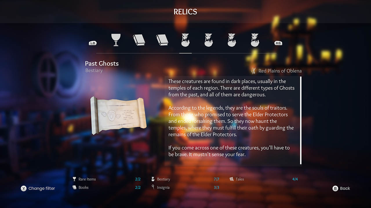 Effie - All Relics & All Achievements - Walkthrough - Addendum: Relic Texts - 902BCA4