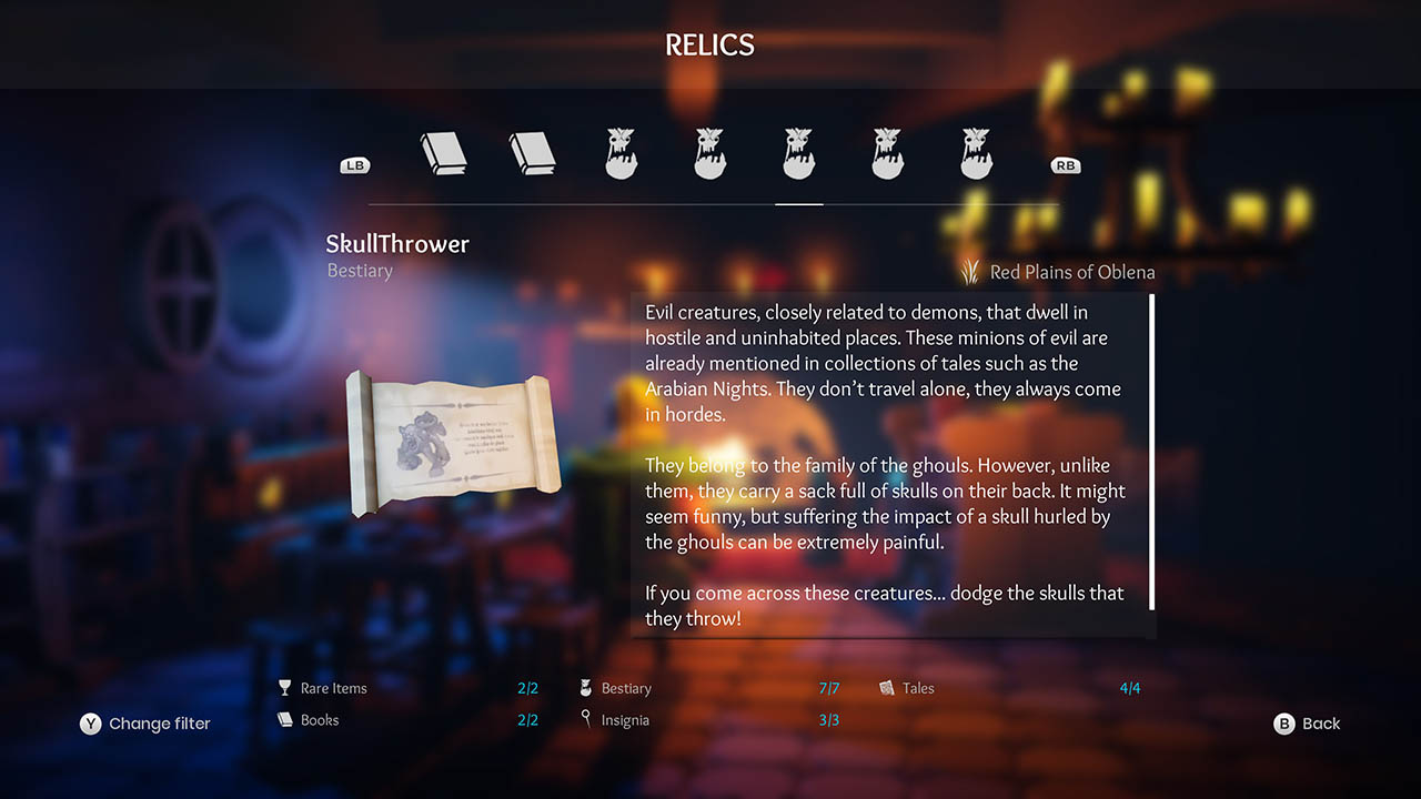 Effie - All Relics & All Achievements - Walkthrough - Addendum: Relic Texts - B8C14AB