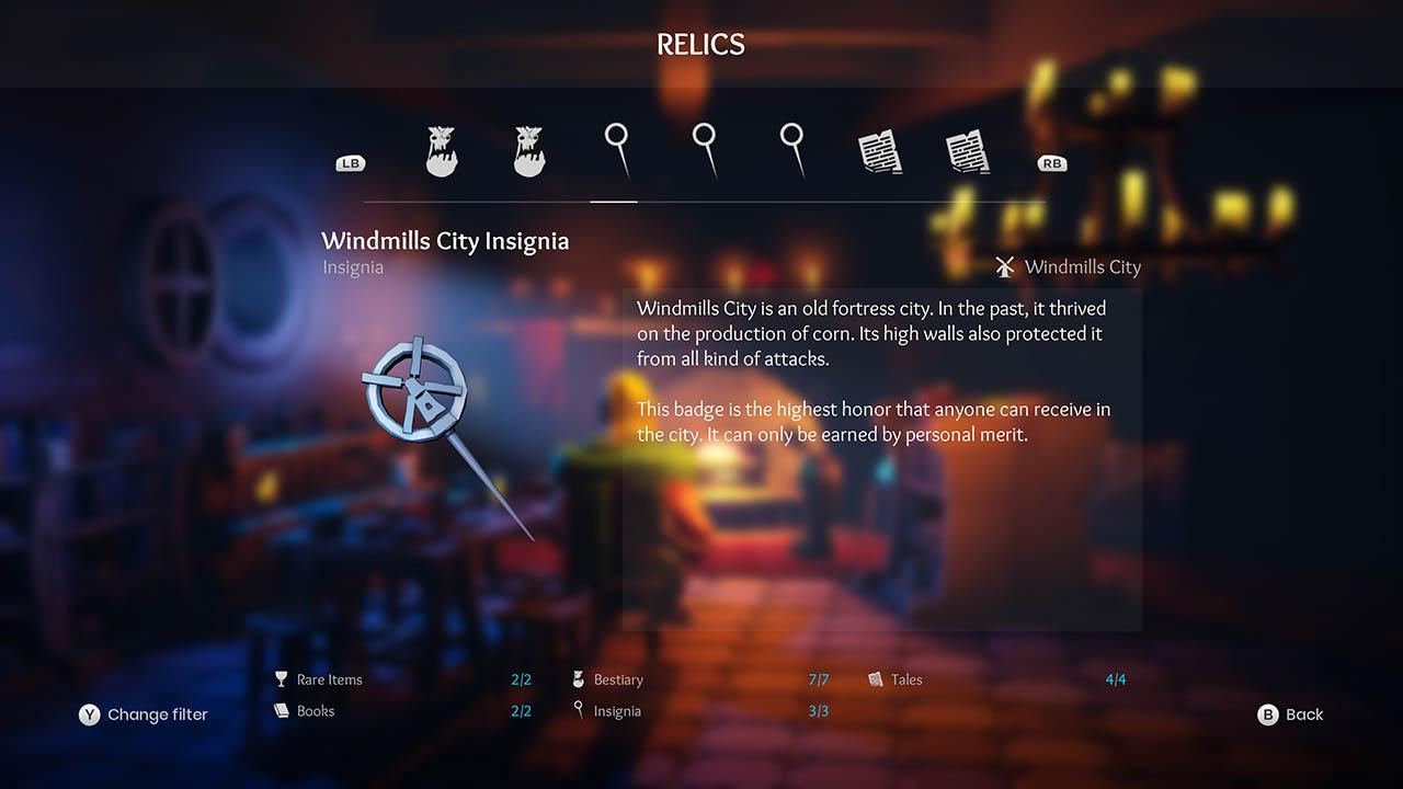 Effie - All Relics & All Achievements - Walkthrough - Addendum: Relic Texts - E9D7C3C