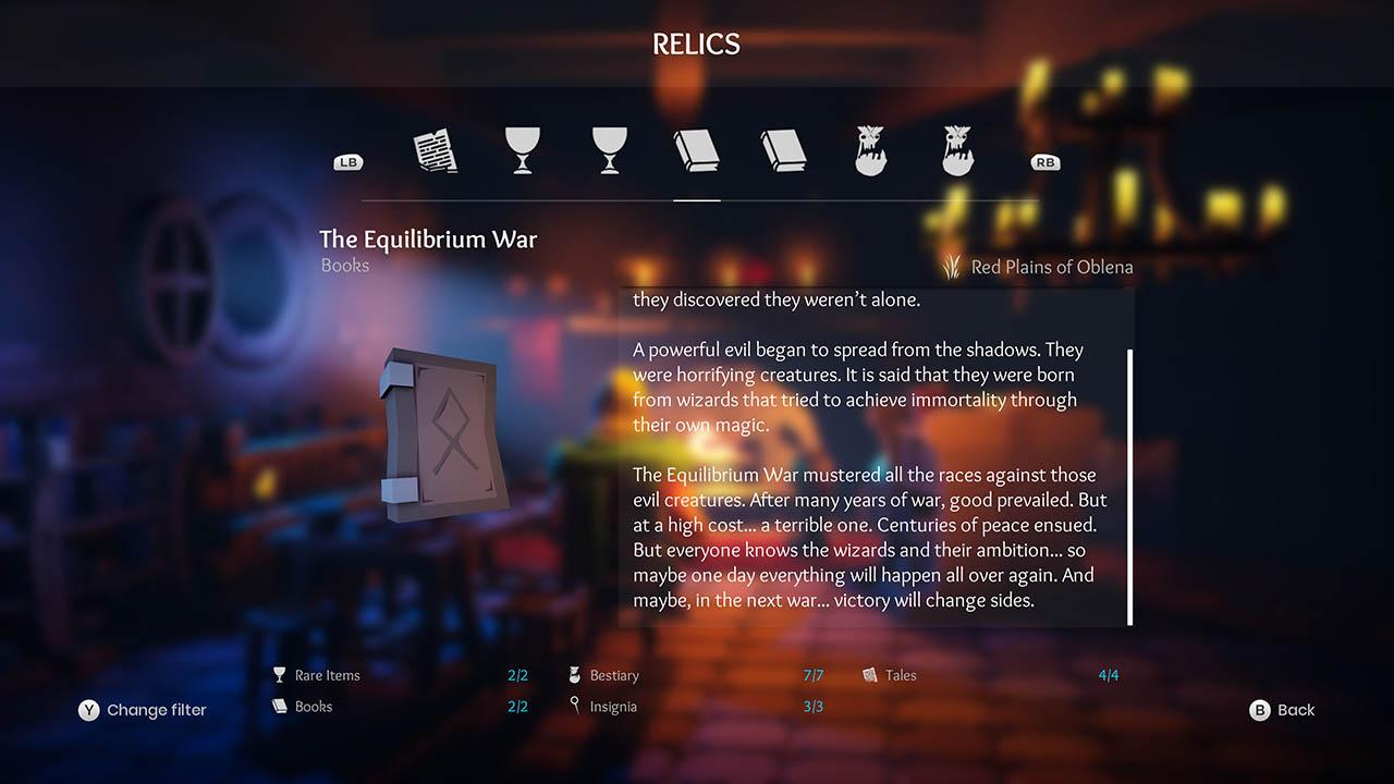 Effie - All Relics & All Achievements - Walkthrough - Addendum: Relic Texts - ECC563A