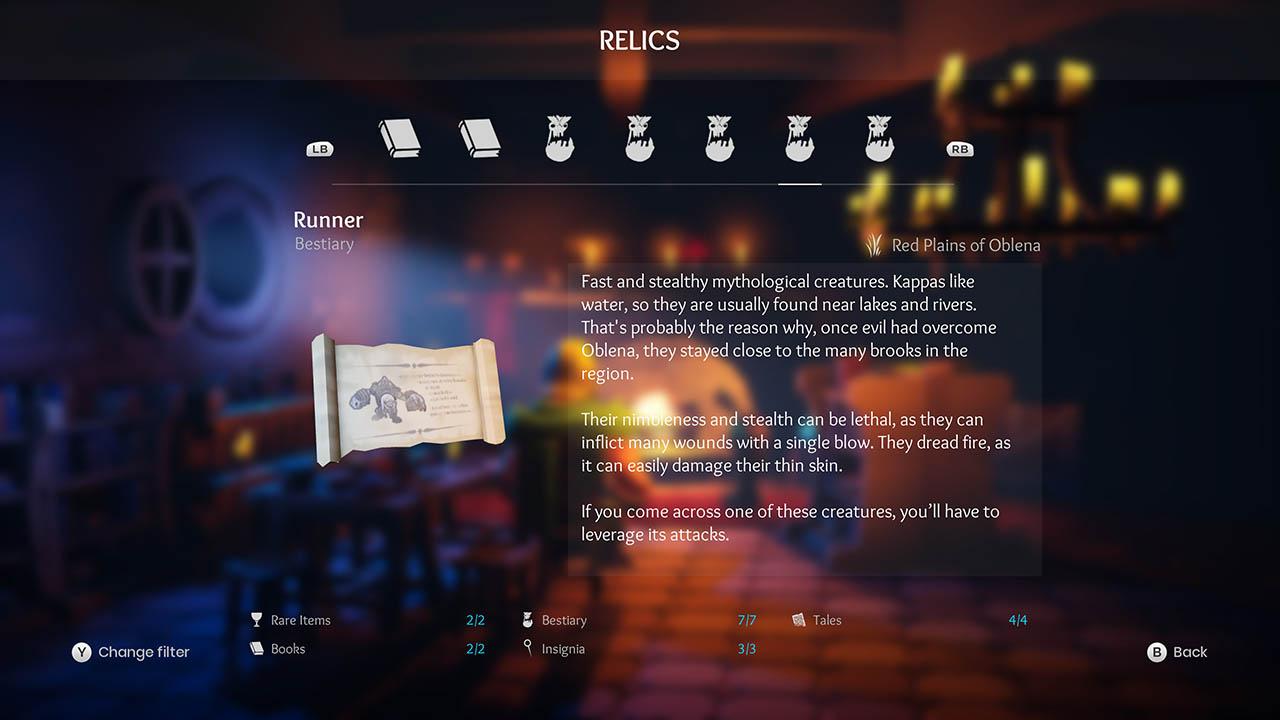 Effie - All Relics & All Achievements - Walkthrough - Addendum: Relic Texts - F9349CF