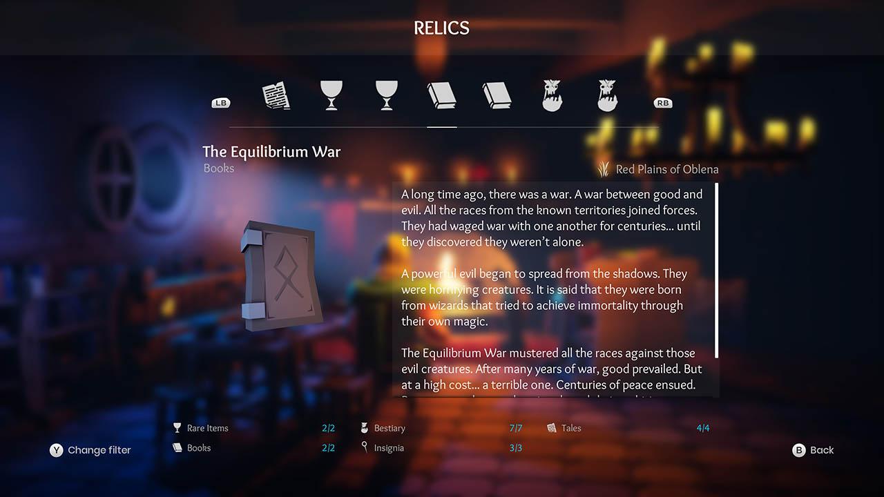 Effie - All Relics & All Achievements - Walkthrough - Addendum: Relic Texts - FD258E1