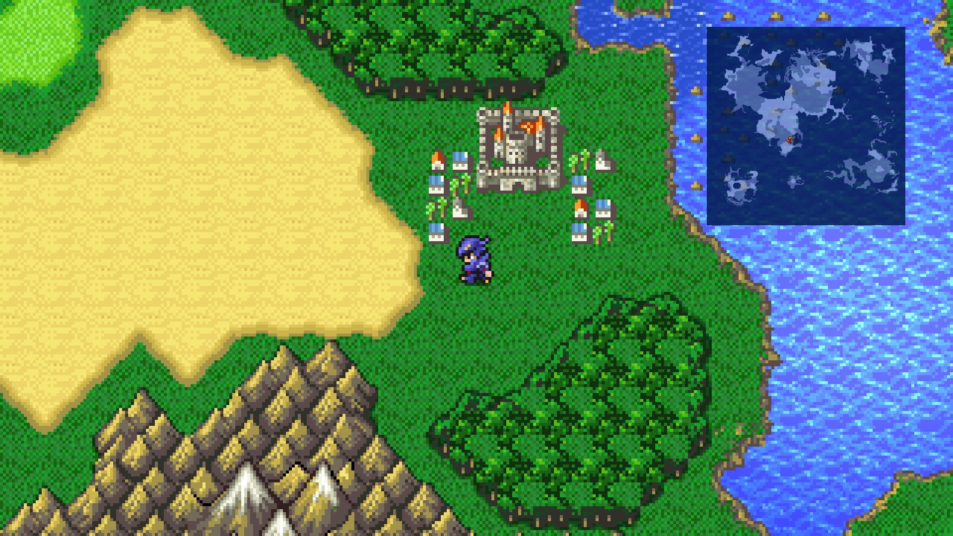 FINAL FANTASY IV - How to Fix Forest Tile MOD - Screenshots & Download - 7F0152F