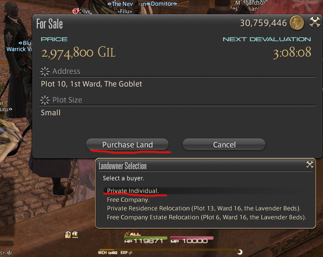 FINAL FANTASY XIV Online - Useful Tips on Buying a House - Quest Guide + Keybinds - The make or break (Final Step) - 6853CCA