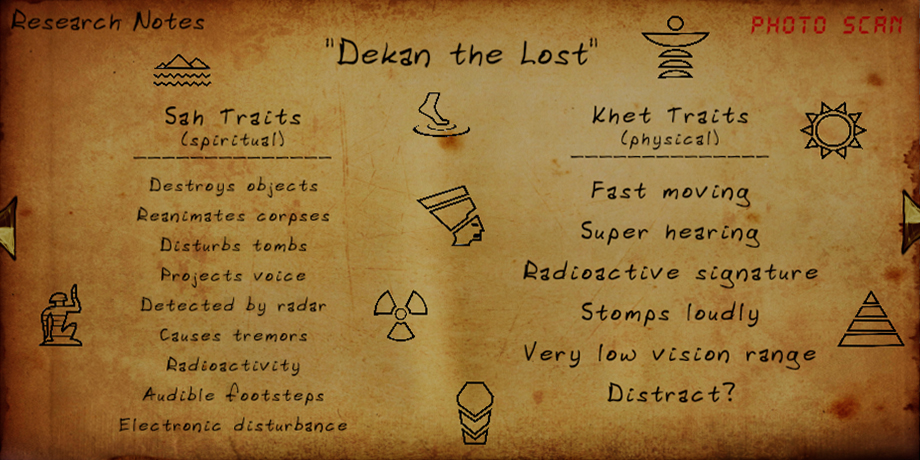 FOREWARNED - General Guide for Mejai Evidence types and Powers - Dekan the Lost - 6204477