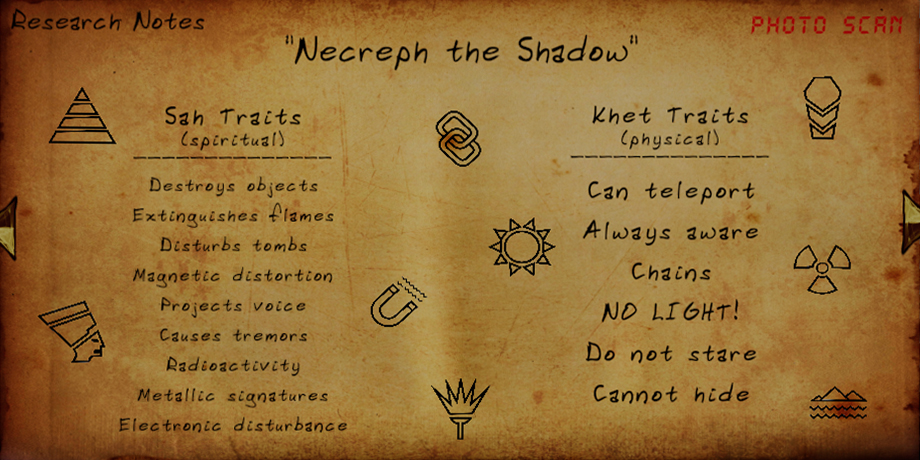 FOREWARNED - General Guide for Mejai Evidence types and Powers - Necreph the Shadow - 27E9696